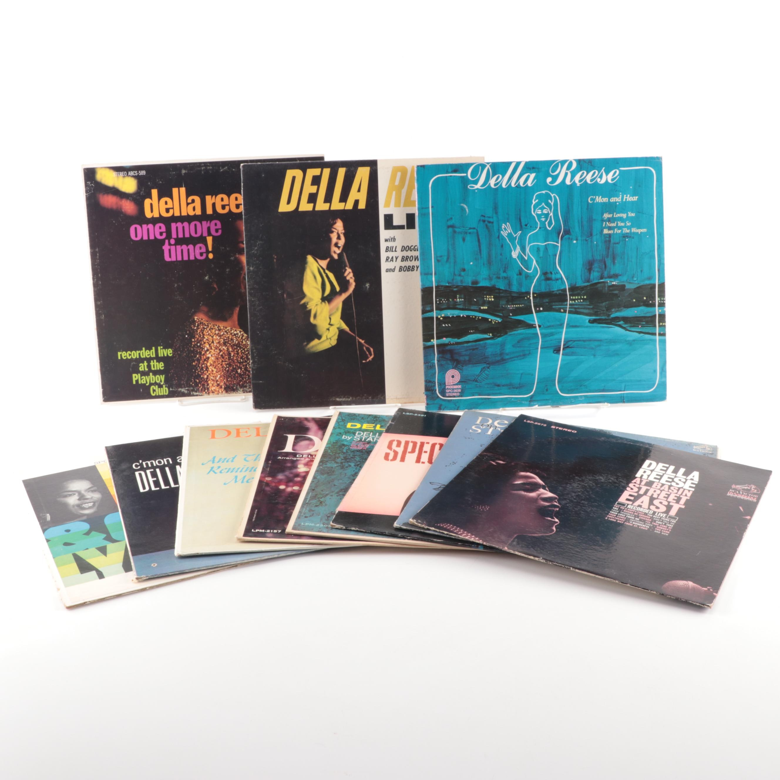 "Della Reese Vinyl Records including ""One More Time!"""
