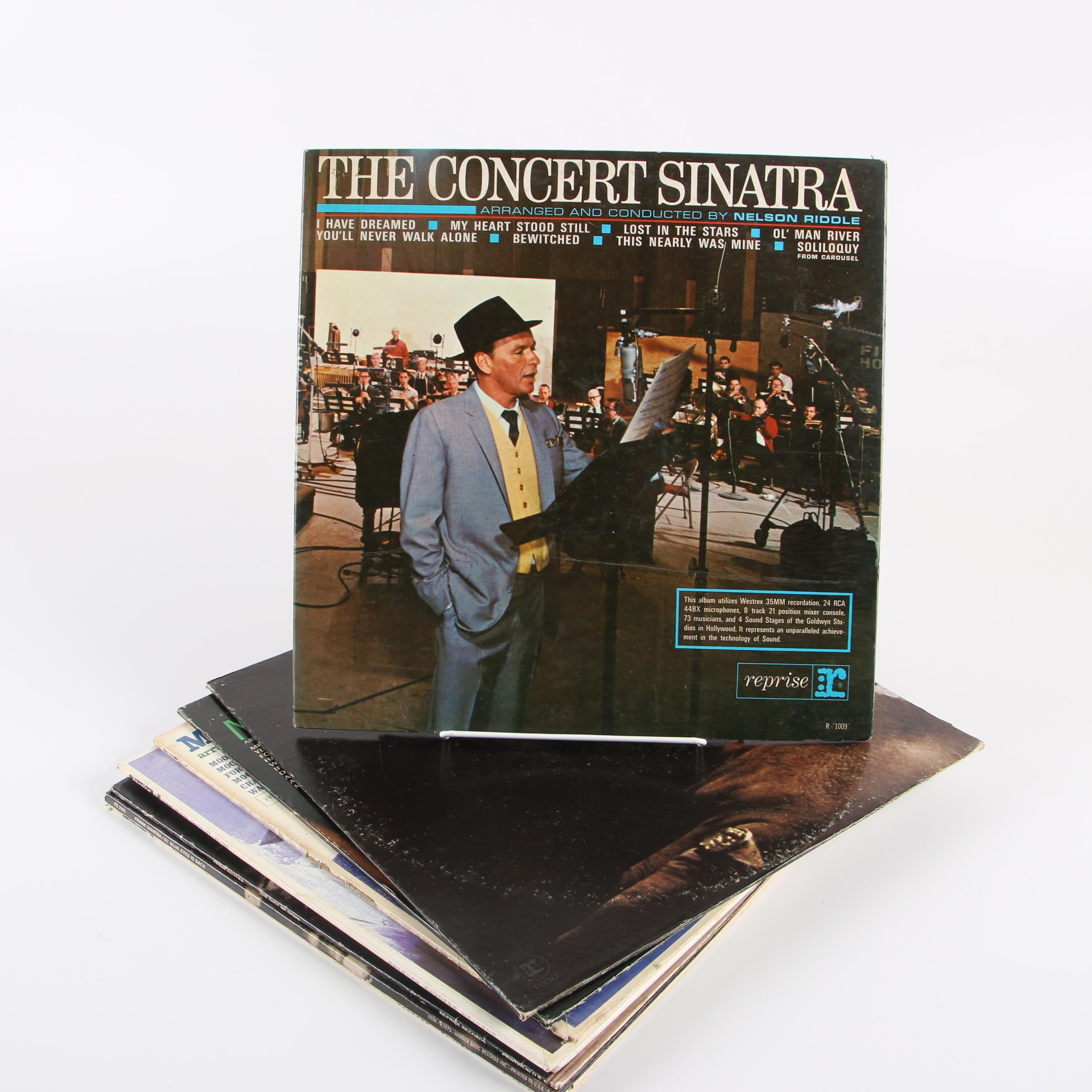 "Frank Sinatra Vinyl Records including ""September of my Years"""