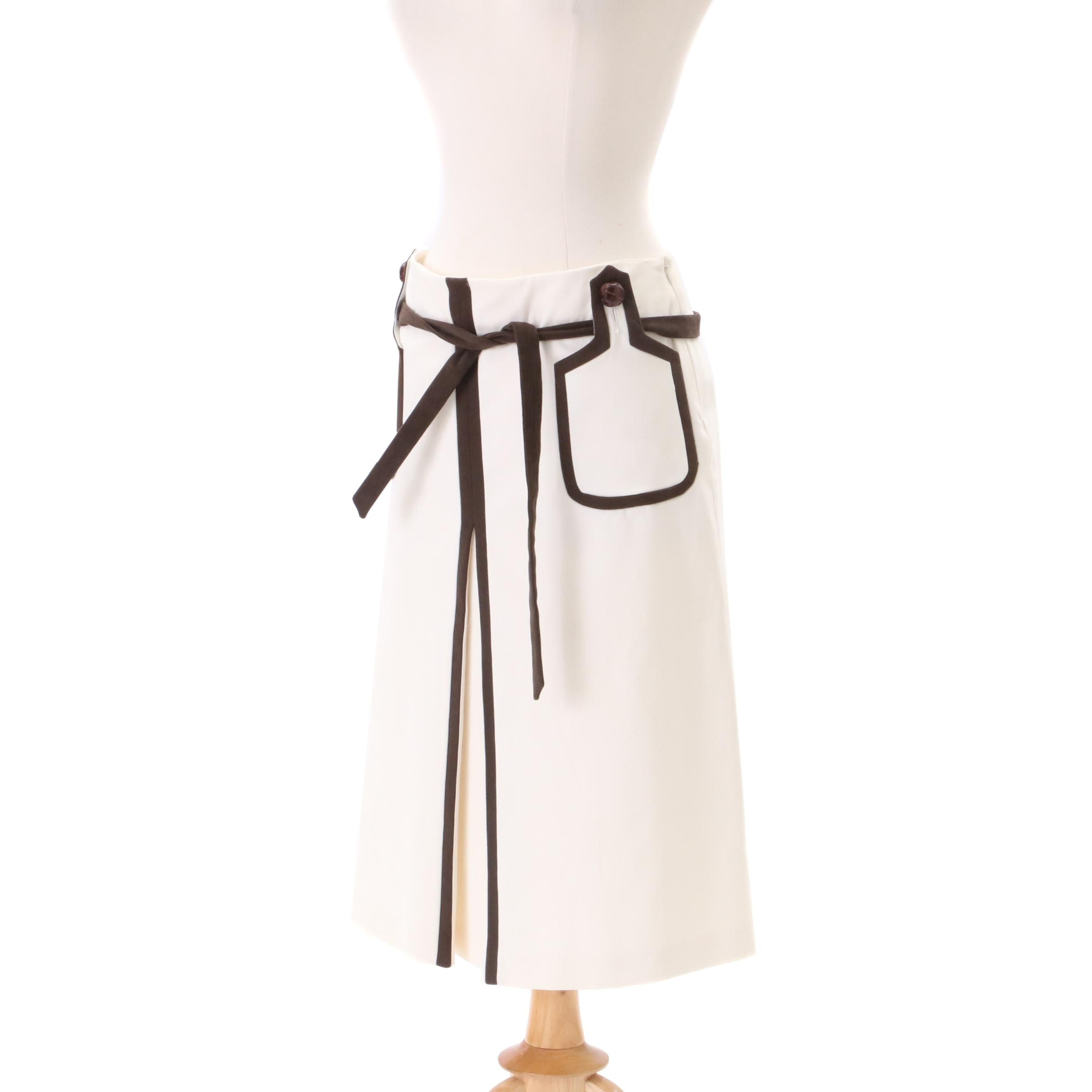Valentino Roma A-line Skirt