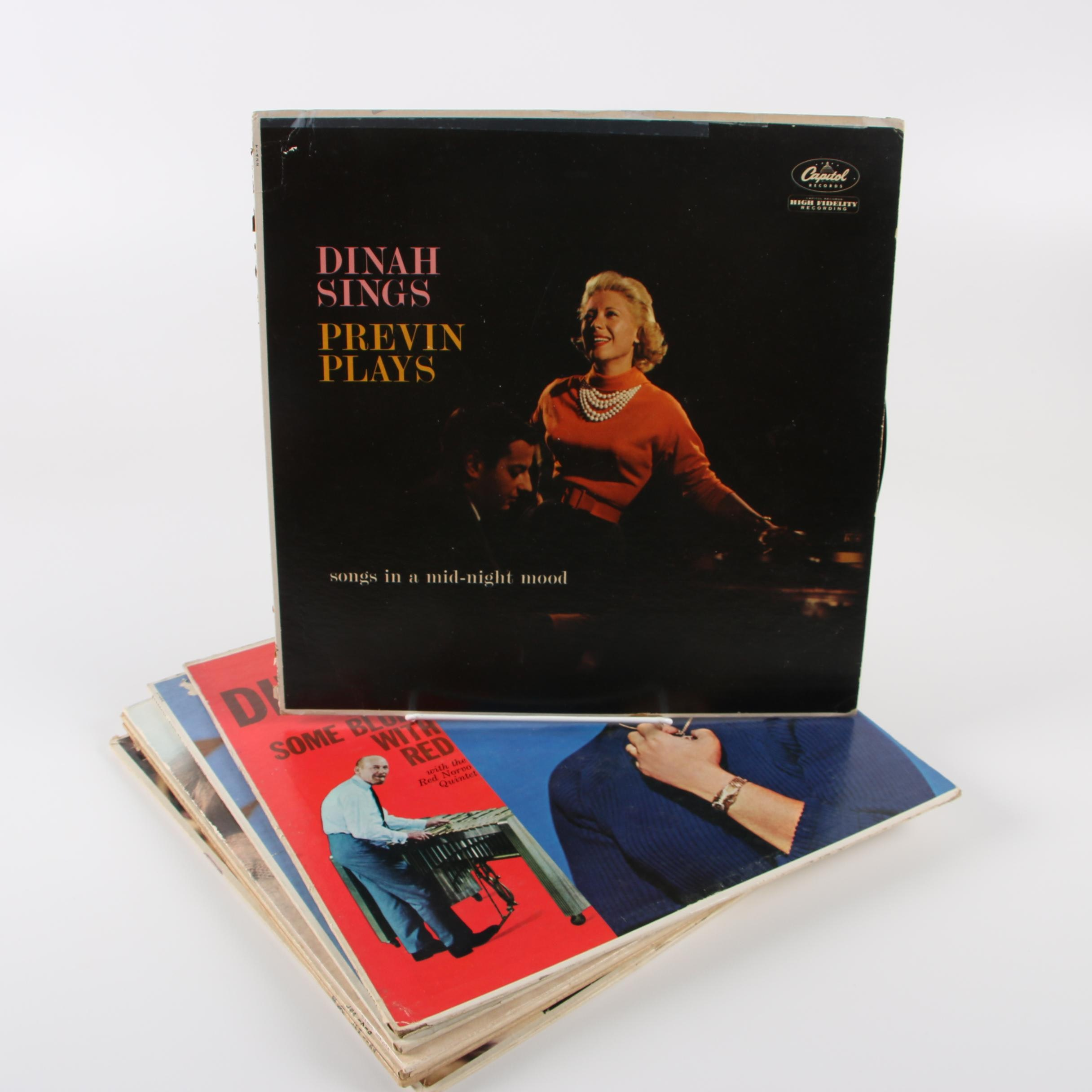 "Dinah Shore Vinyl Record including ""Dinah Sings Previn Plays"""