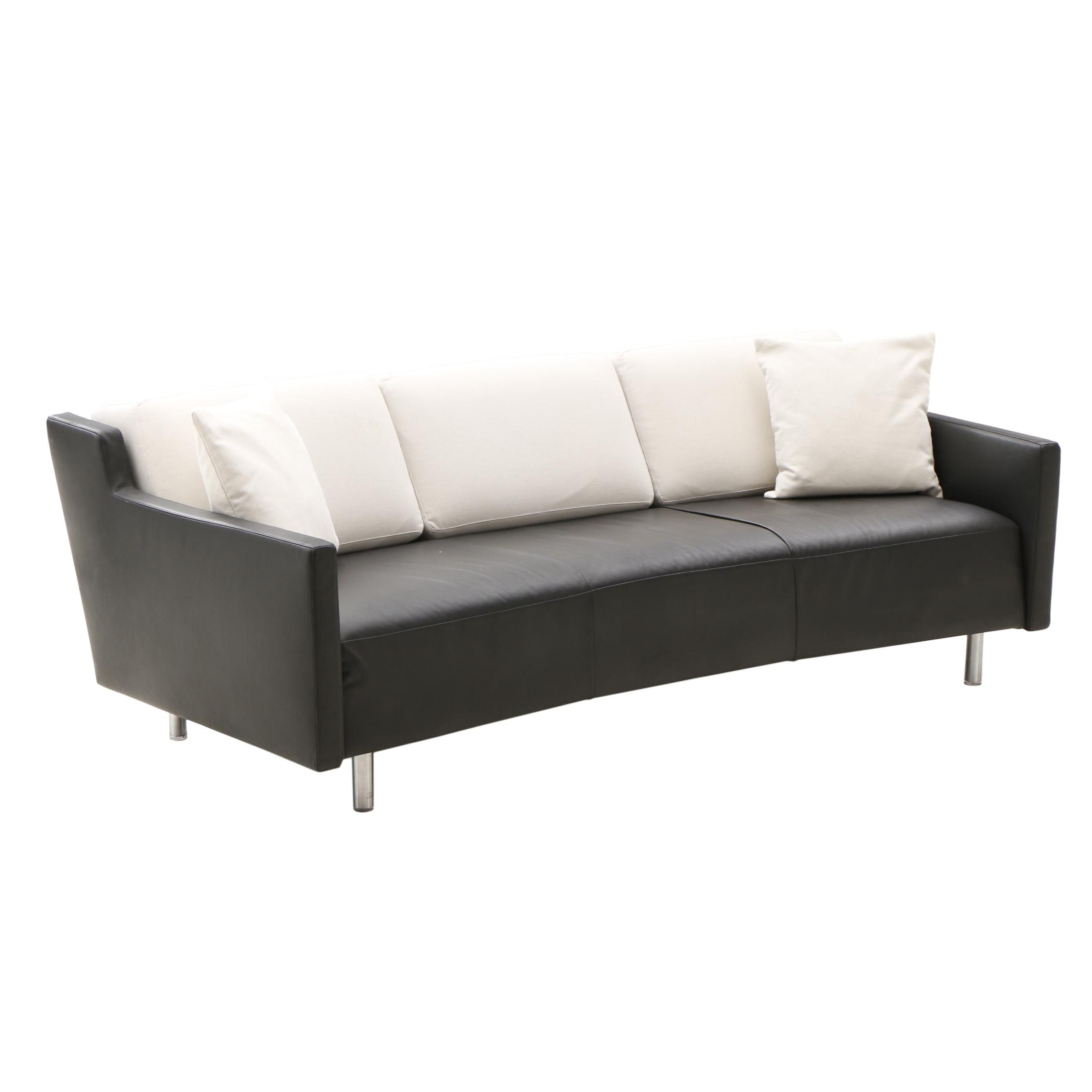 "Montis ""Meander"" Leather Sofa"