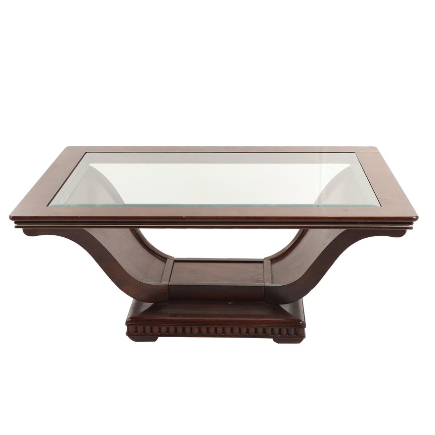 Art Deco Style U-Base Coffee Table, 20th Century