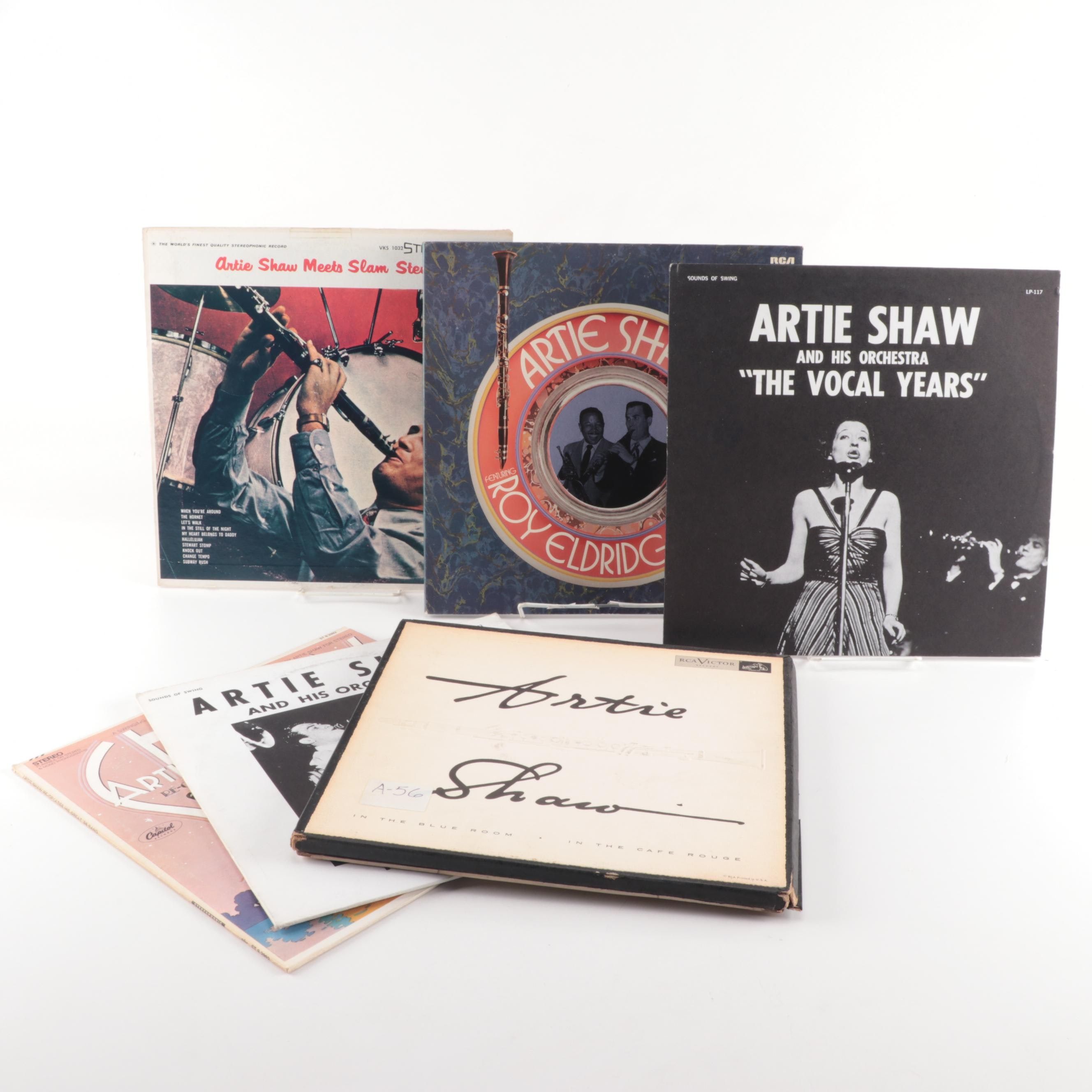 "Artie Shaw Vinyl Records including ""The Vocal Years"" and ""The String Years"""