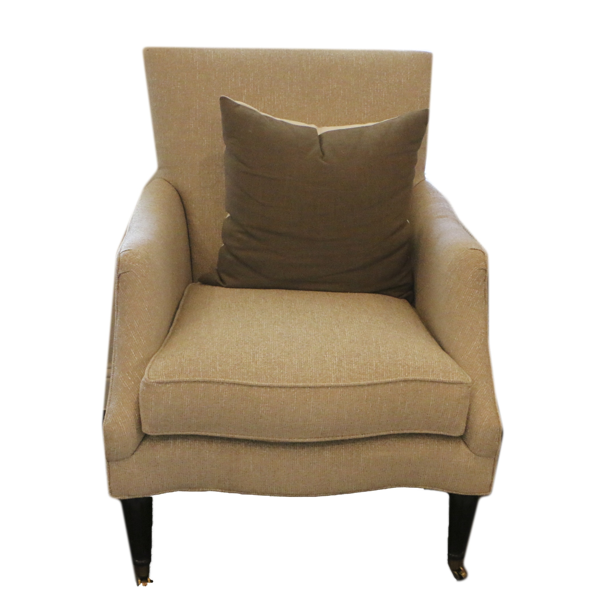 Beige Upholstered Armchair by Southern