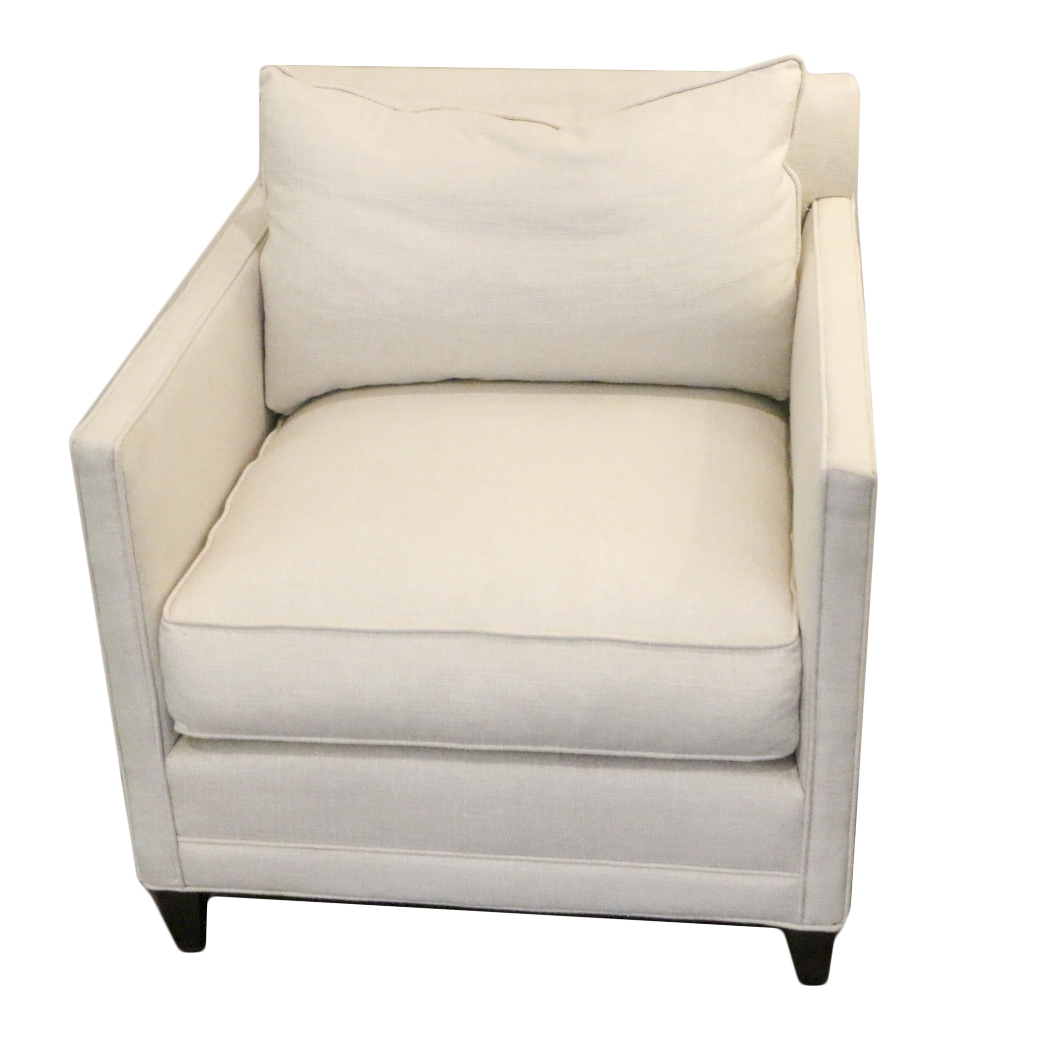 Contemporary Upholstered Armchair by Robin Bruce