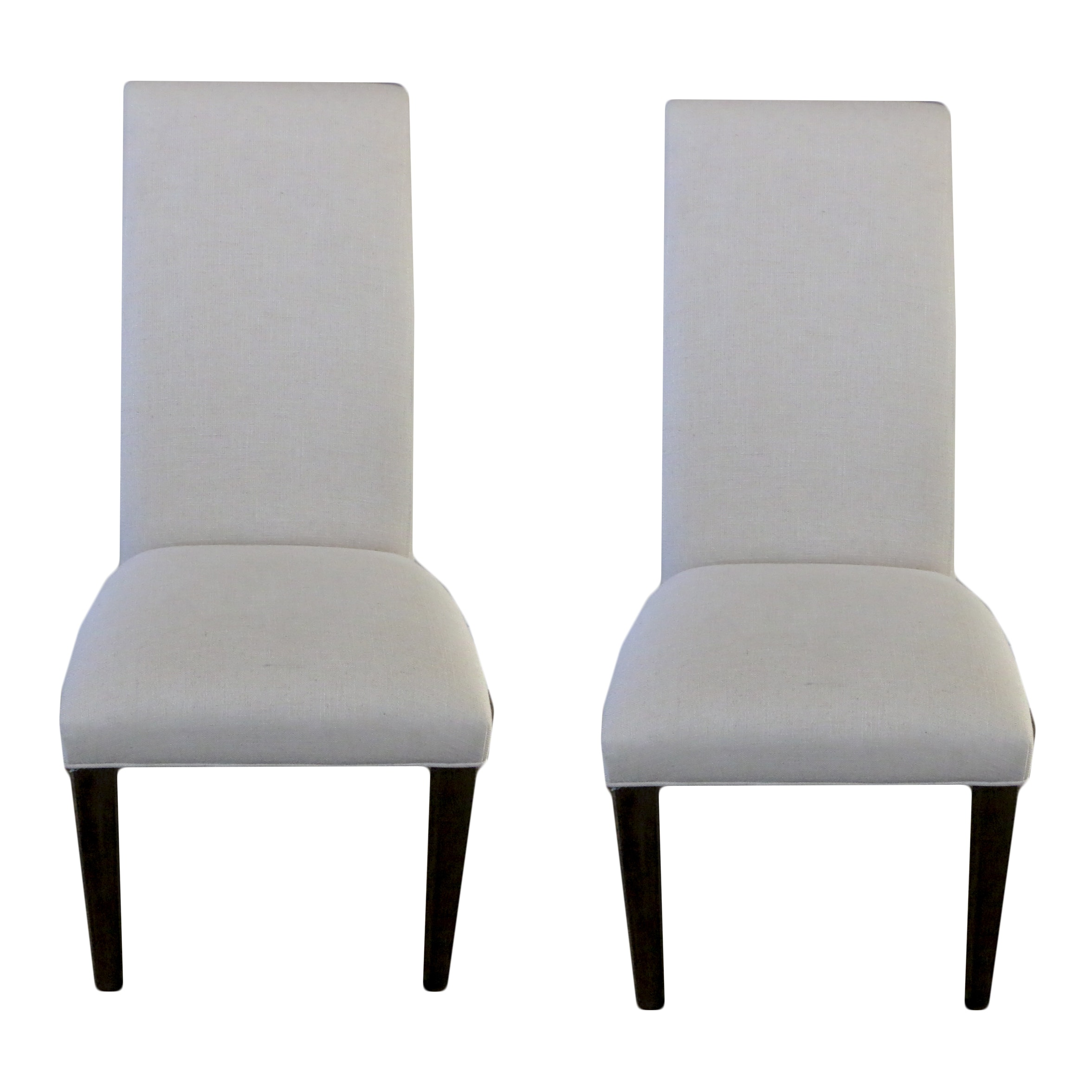 Upholstered High Back Side Chairs by Universal