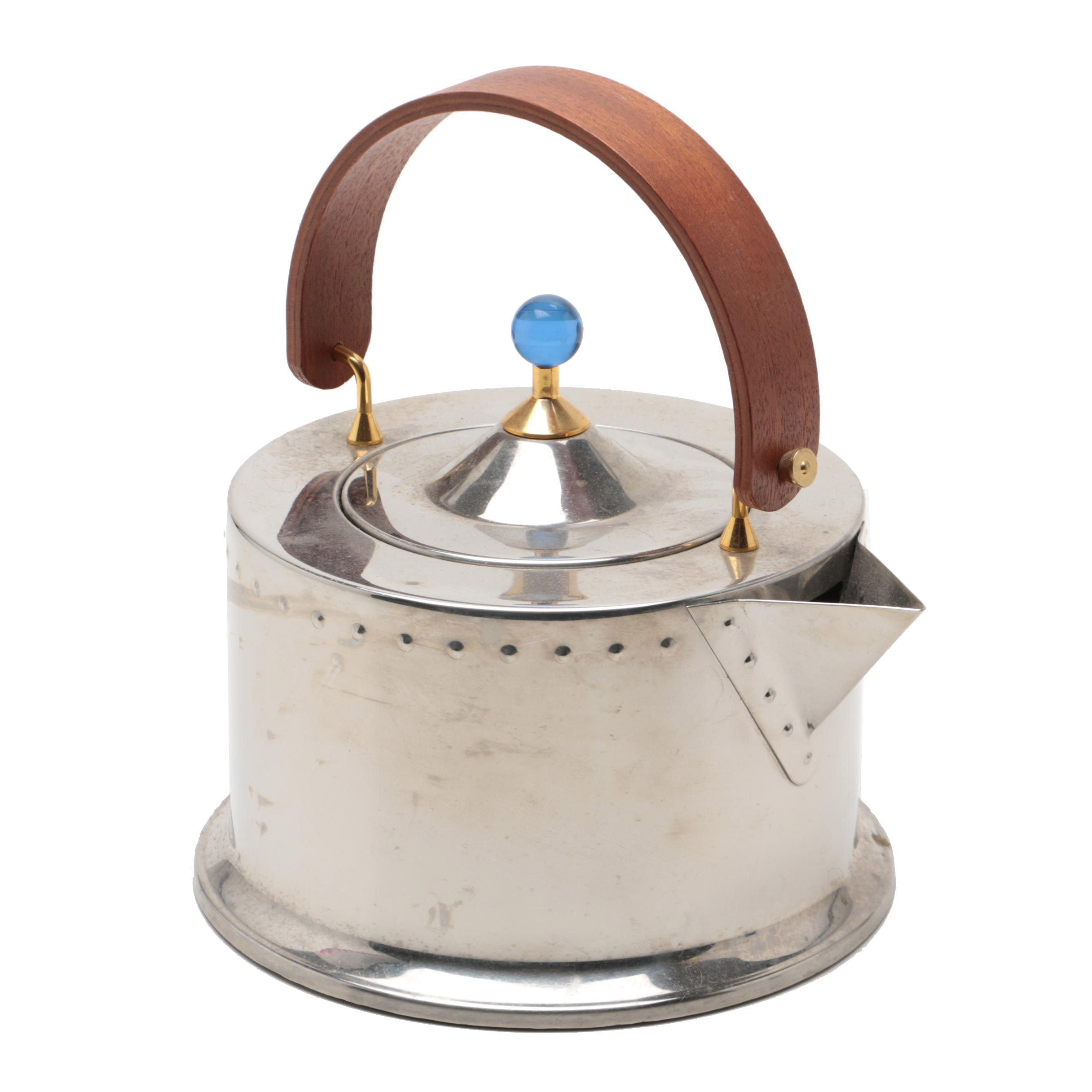 Bodum Ottoni Stainless Steel Teapot Designed by C. Jorgensen