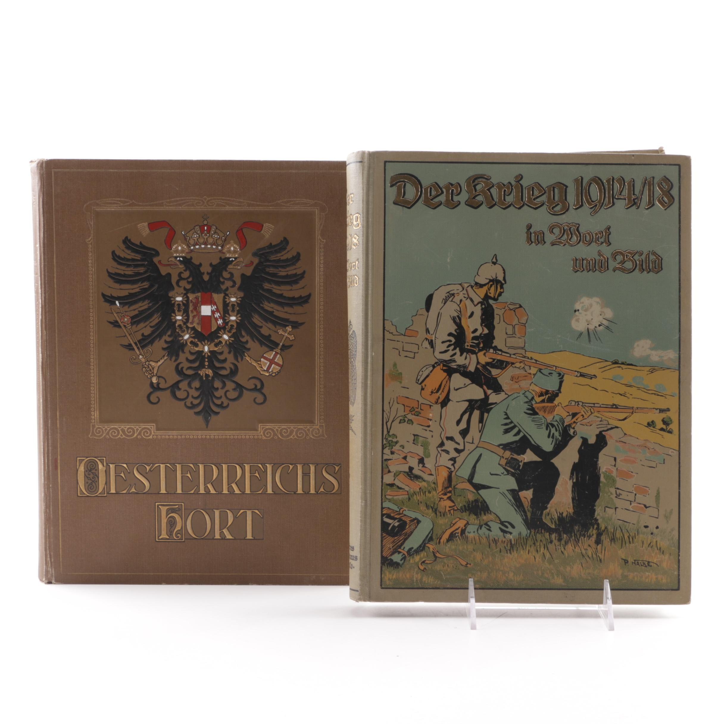 German-Language Books on World War I and the Habsburg Empire