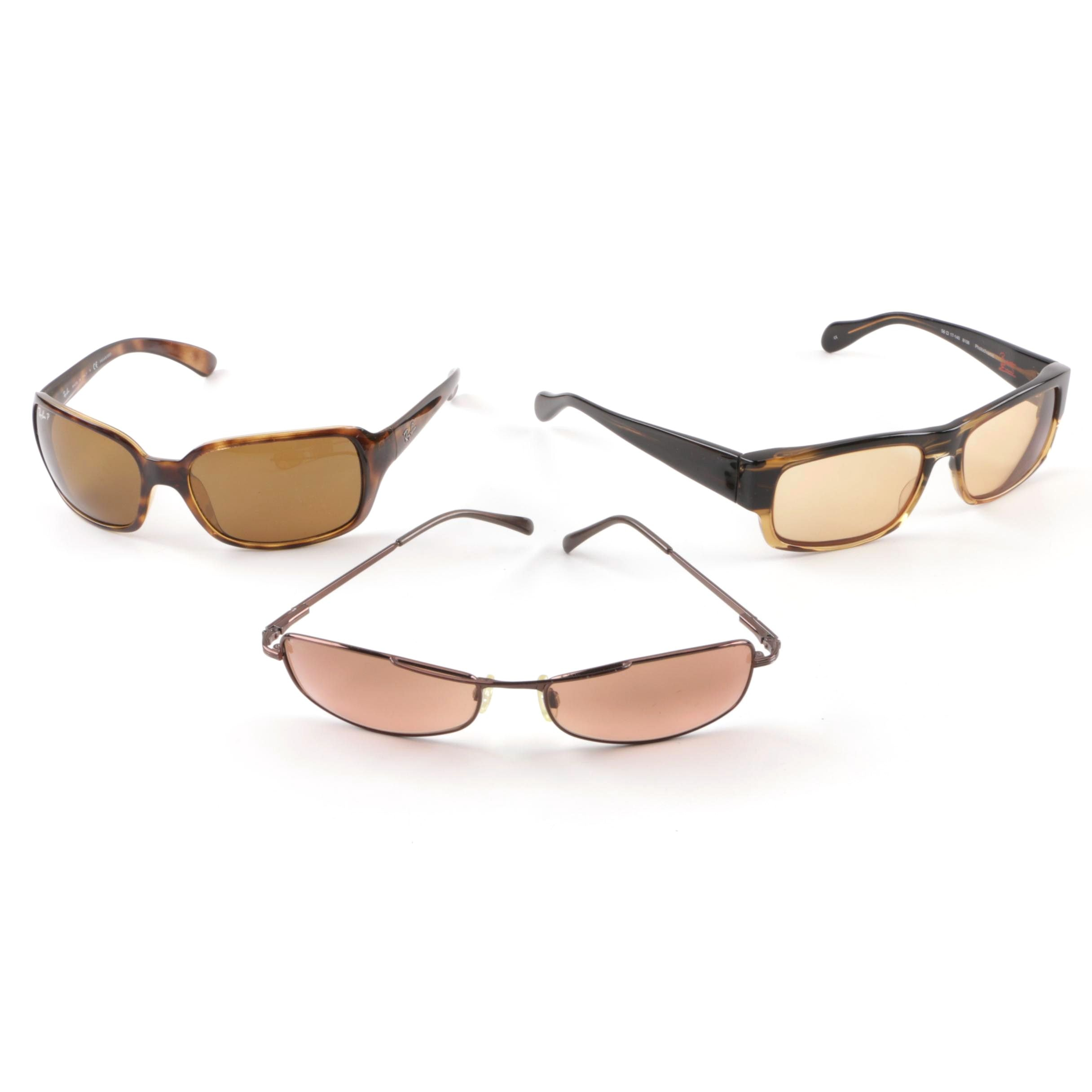 Ray-Ban, Serengeti and Robert Evans by Oliver Peoples Sunglasses