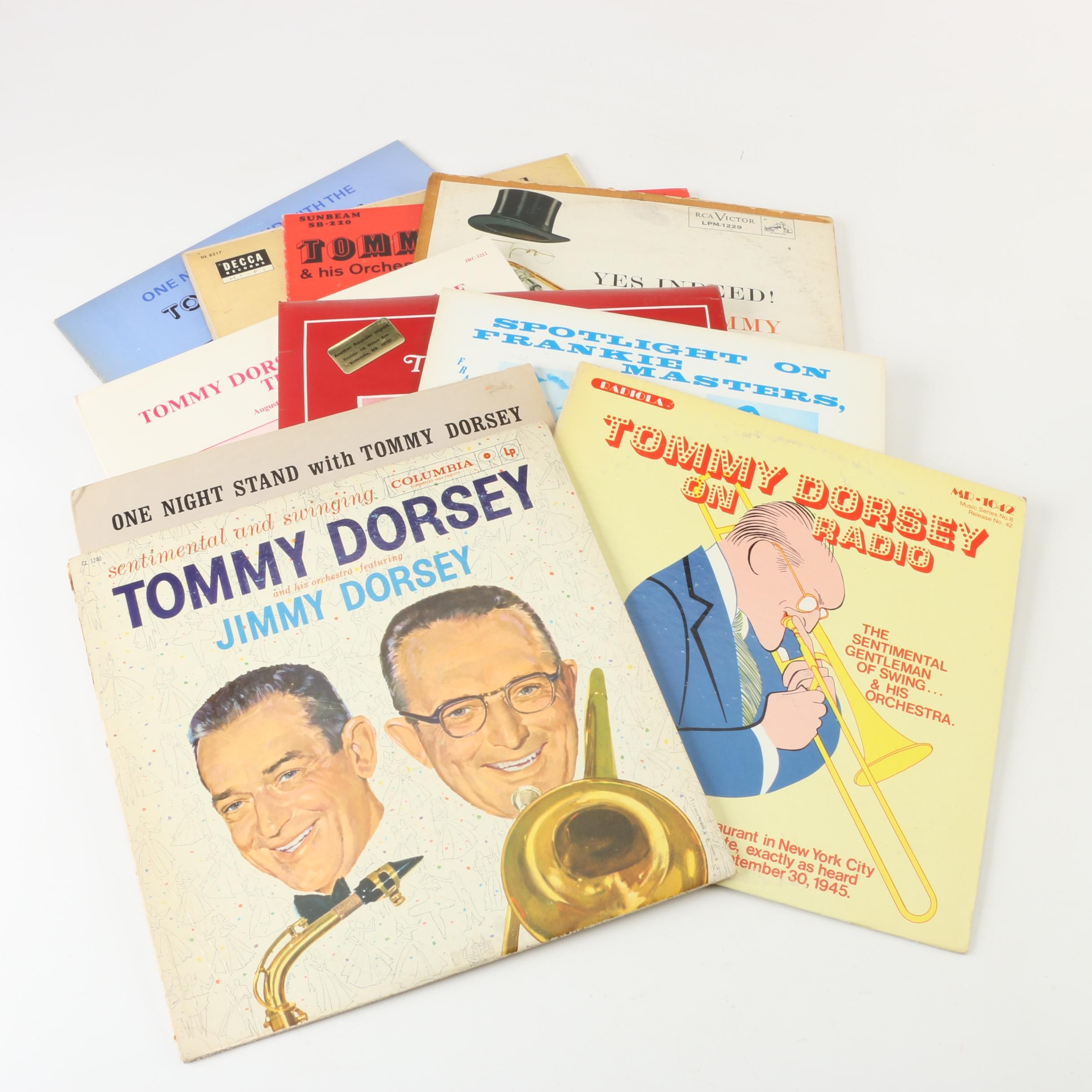 "Tommy Dorsey Records including ""One Night Stand"""