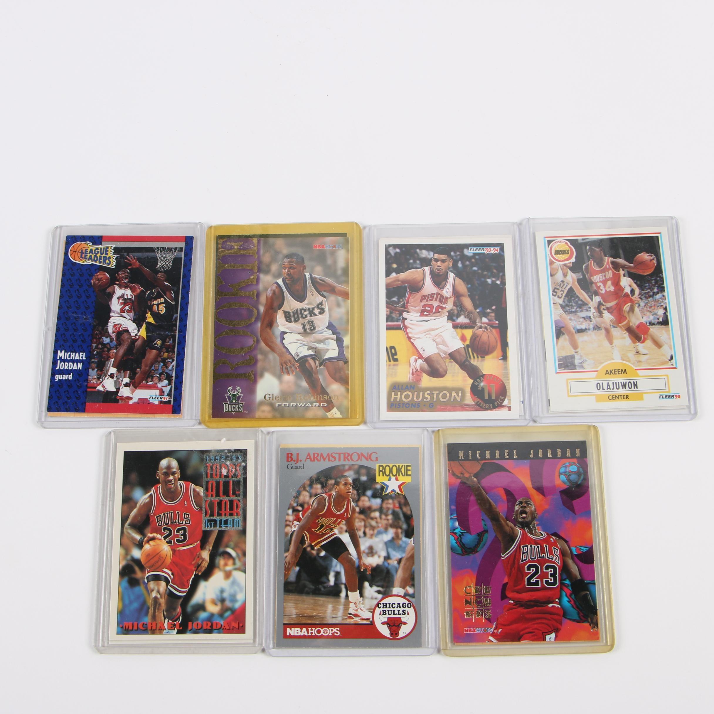 1990s Basketball Trading Cards including Michael Jordan