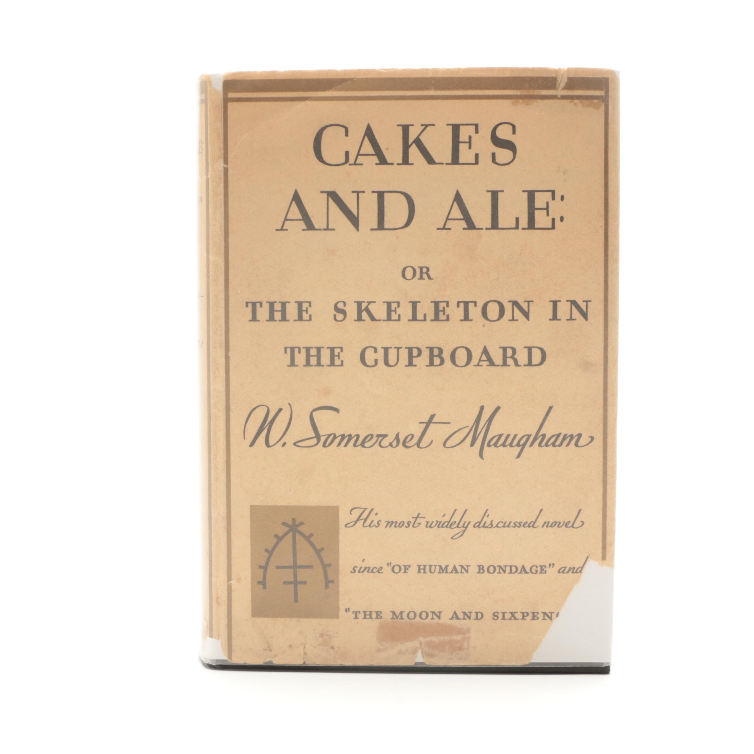 """1930 First American Edition """"Cakes and Ale"""" W. Somerset Maugham"""