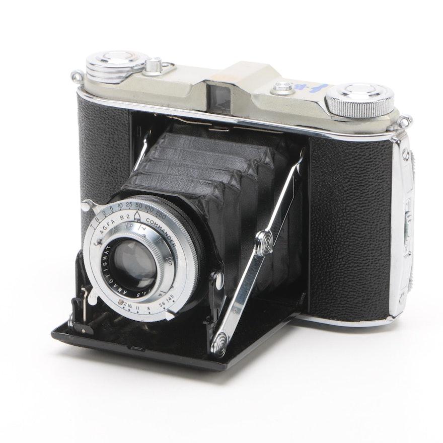 1950s Agfa/Ansco B2 Commander German Still Camera Signed by Jack Bradley