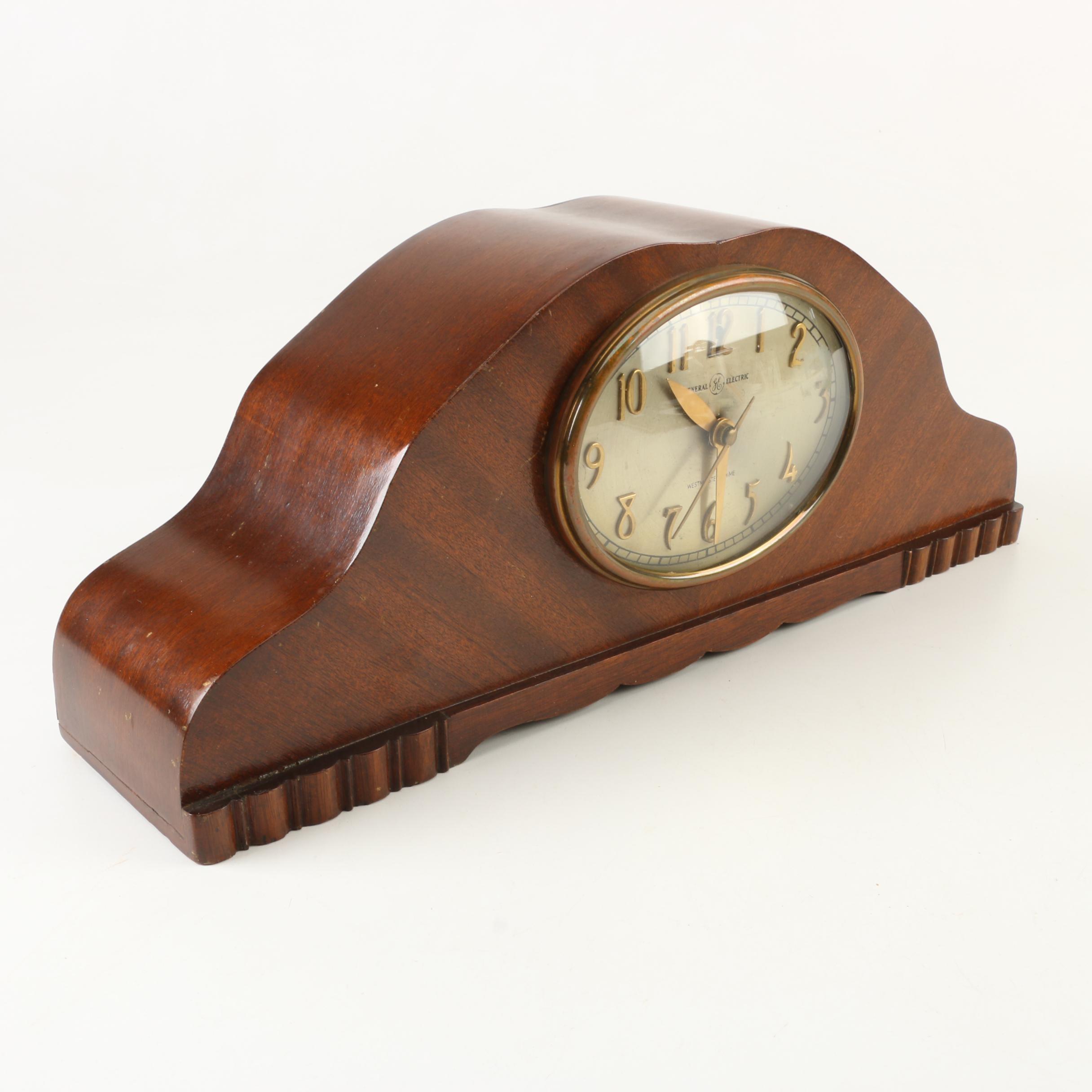 1940s General Electric Tambour Clock