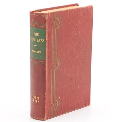 "Ex-Libris Jack Bradley 1942 ""The Real Jazz"" by Hugues Panassié"