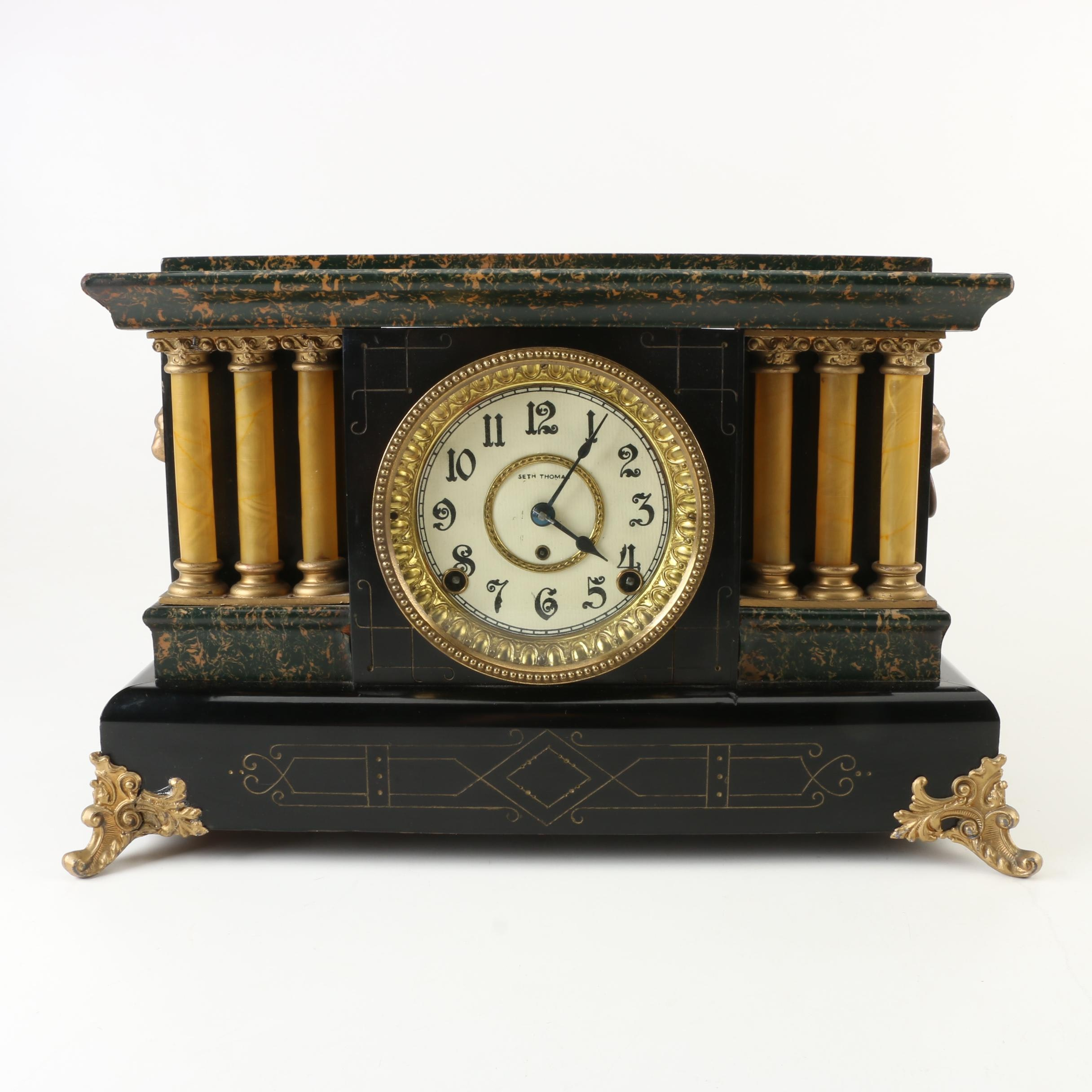 Seth Thomas Adamantine Clock