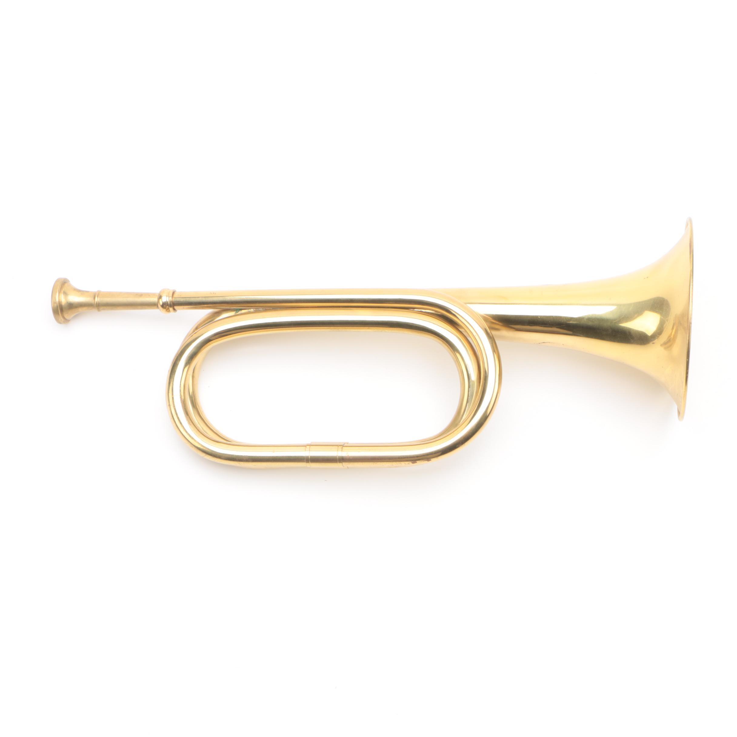 Brass Bugle Horn