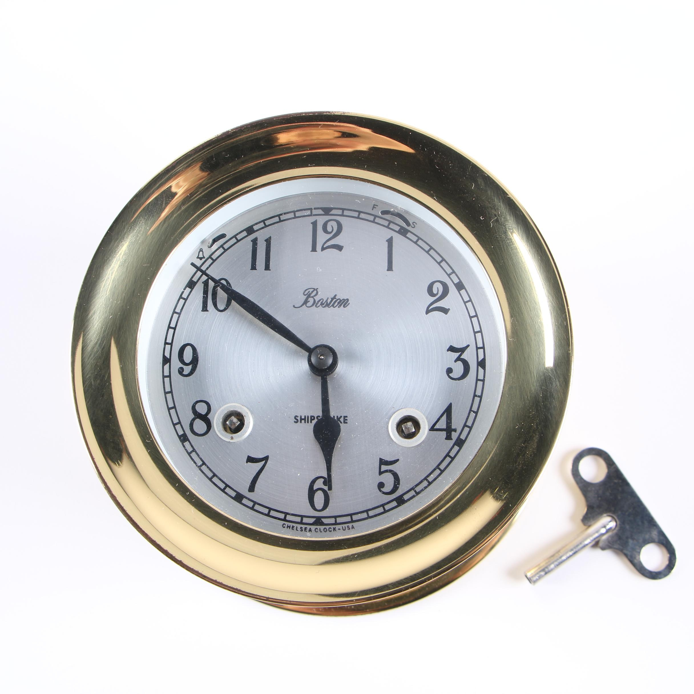 "Boston Brass ""Shipstrike"" Naval Clock"
