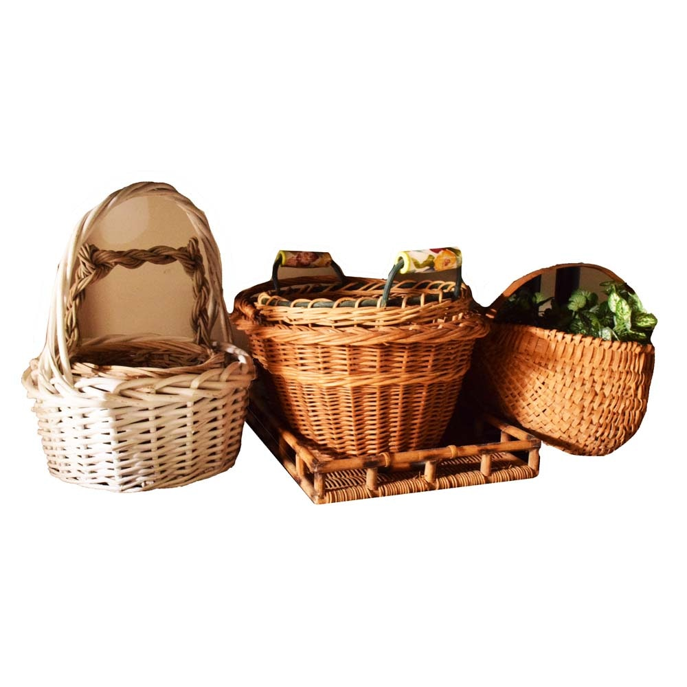 Collection of Handled Baskets