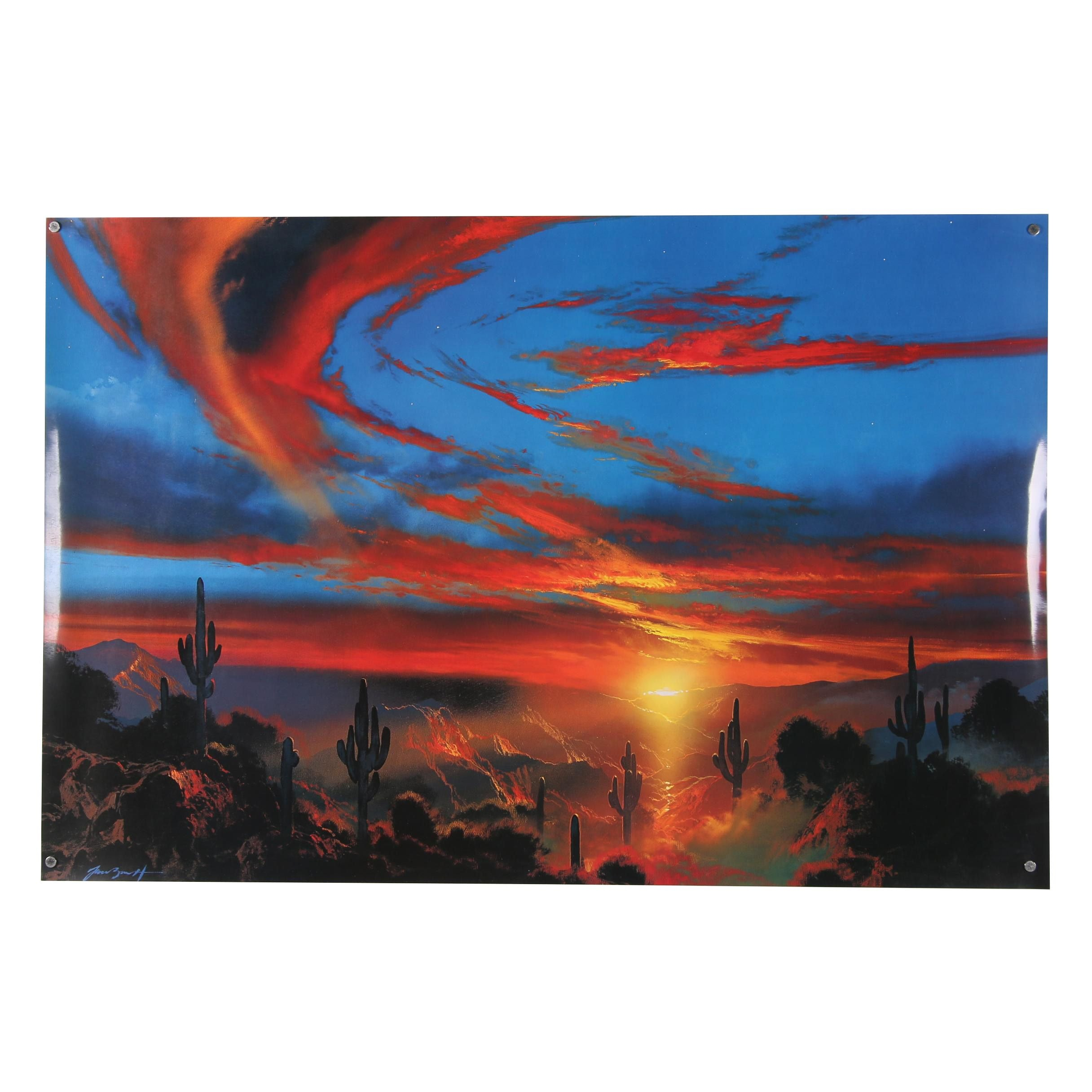 """Offset Lithograph After Dale Terbush """"When You See a Sign from Heaven"""""""