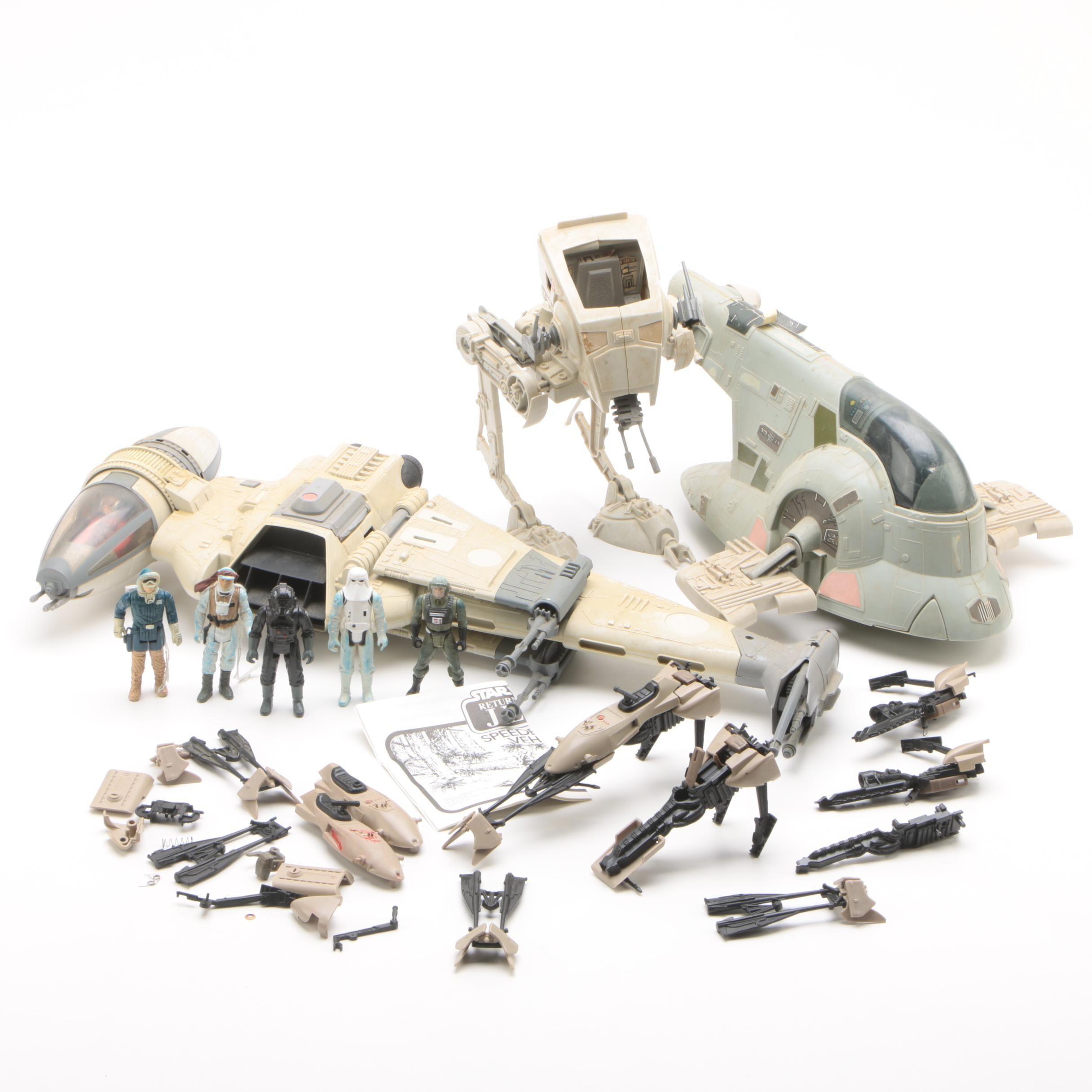 """Kenner """"Star Wars"""" Action Figures and Vehicles"""