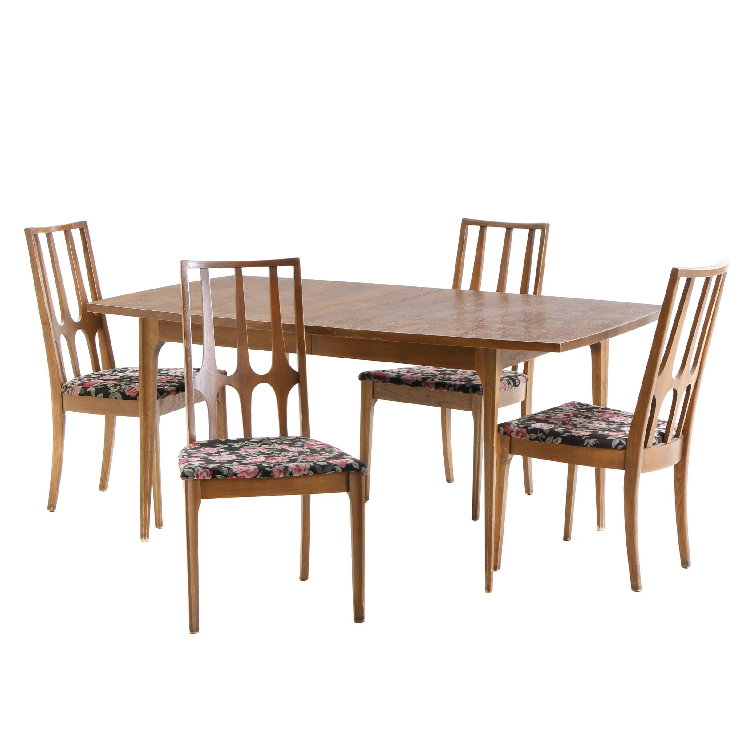 "Mid-Century ""Brasilia"" Dining Set by Broyhill"
