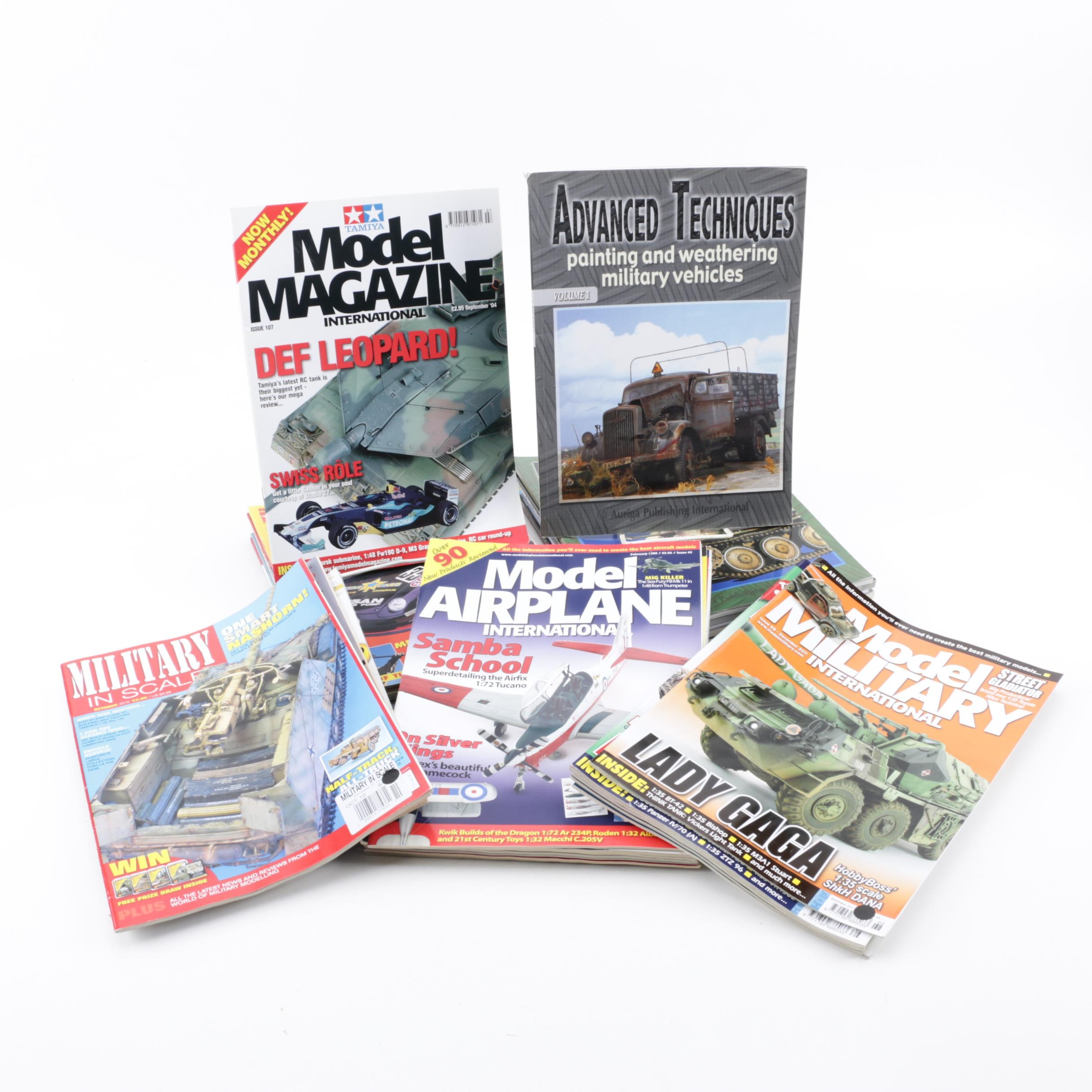 Magazines on Model War Vehicles and Planes