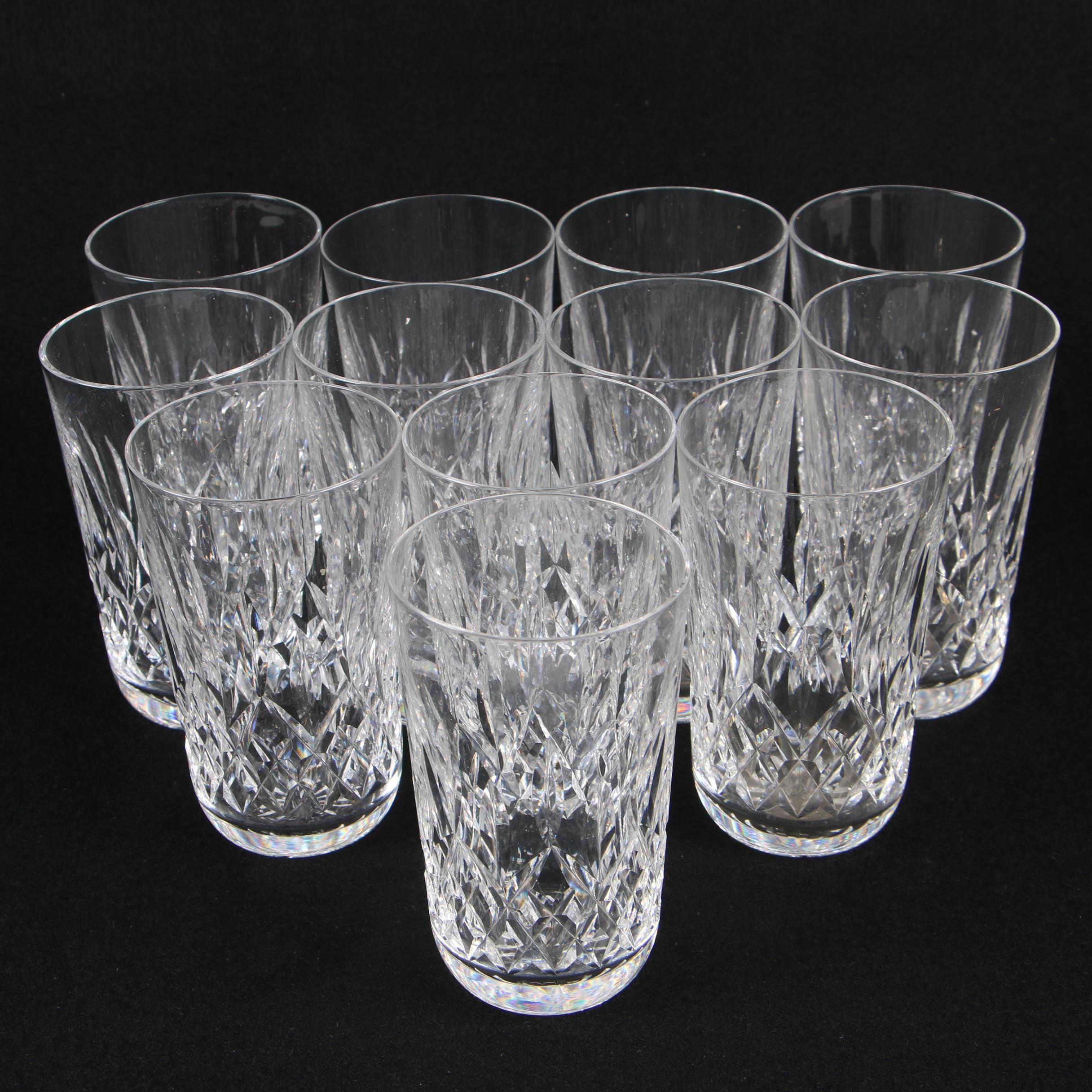 """Waterford Crystal """"Lismore"""" Tumblers"""