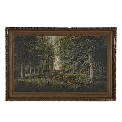 William McKendree Snyder 1915 Oil Landscape Painting
