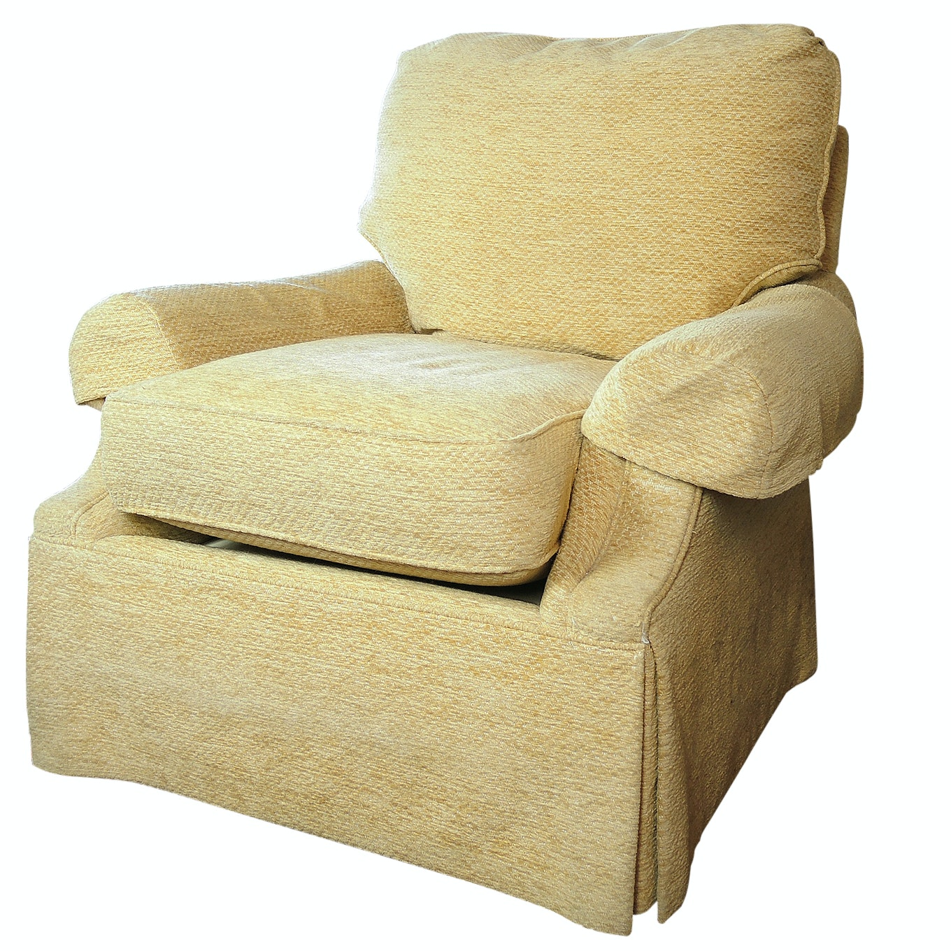 Contemporary Upholstered Armchair by Sherrill