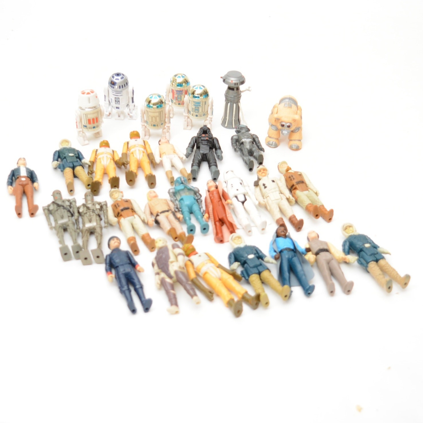 L.F.L. Star Wars Action Figurines Circa 1980s
