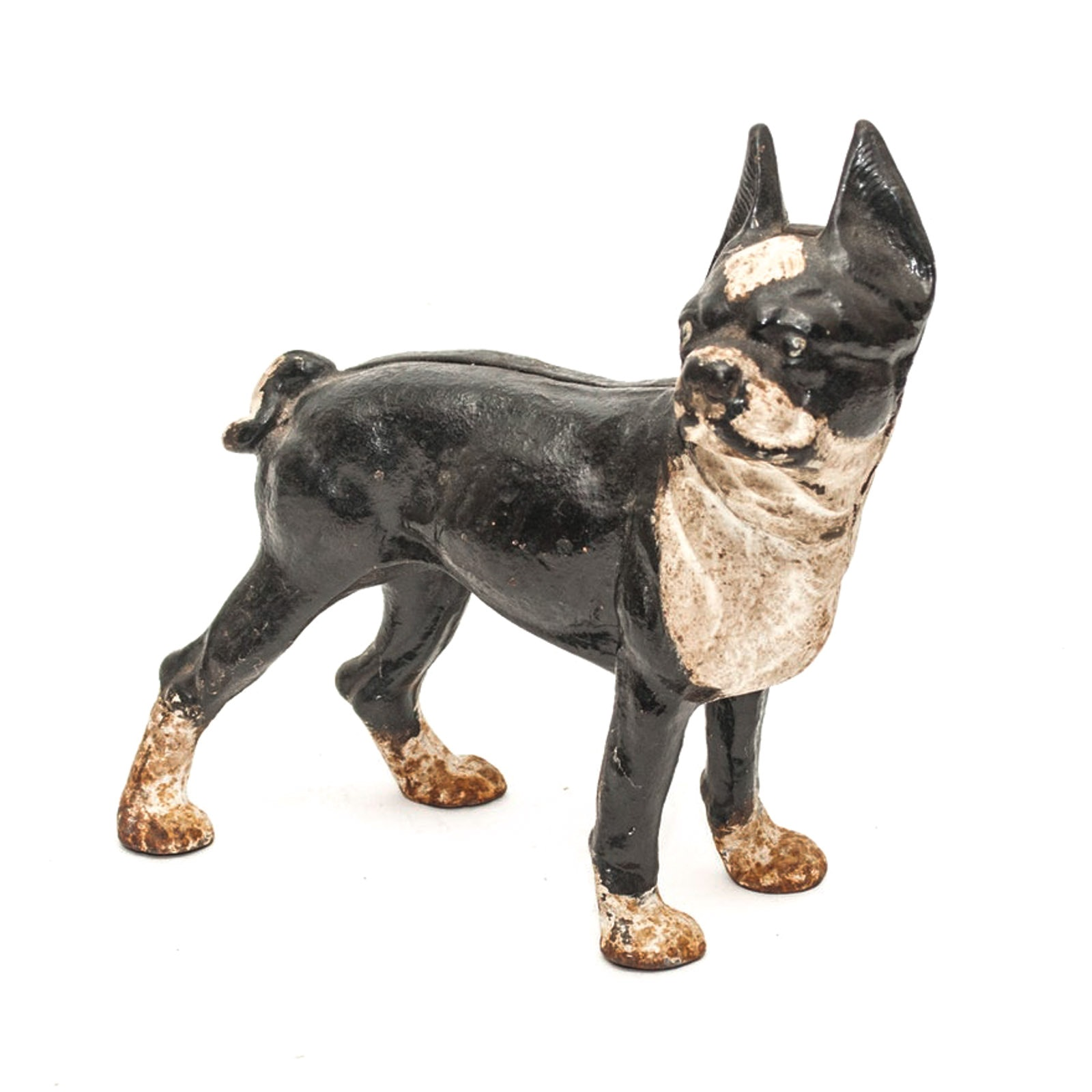 French Bulldog Cast Iron Doorstop in the Style of Hubley