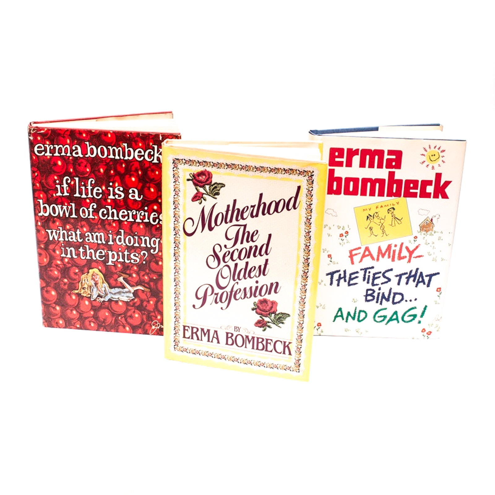 Erma Bombeck Books with Signed First Edition