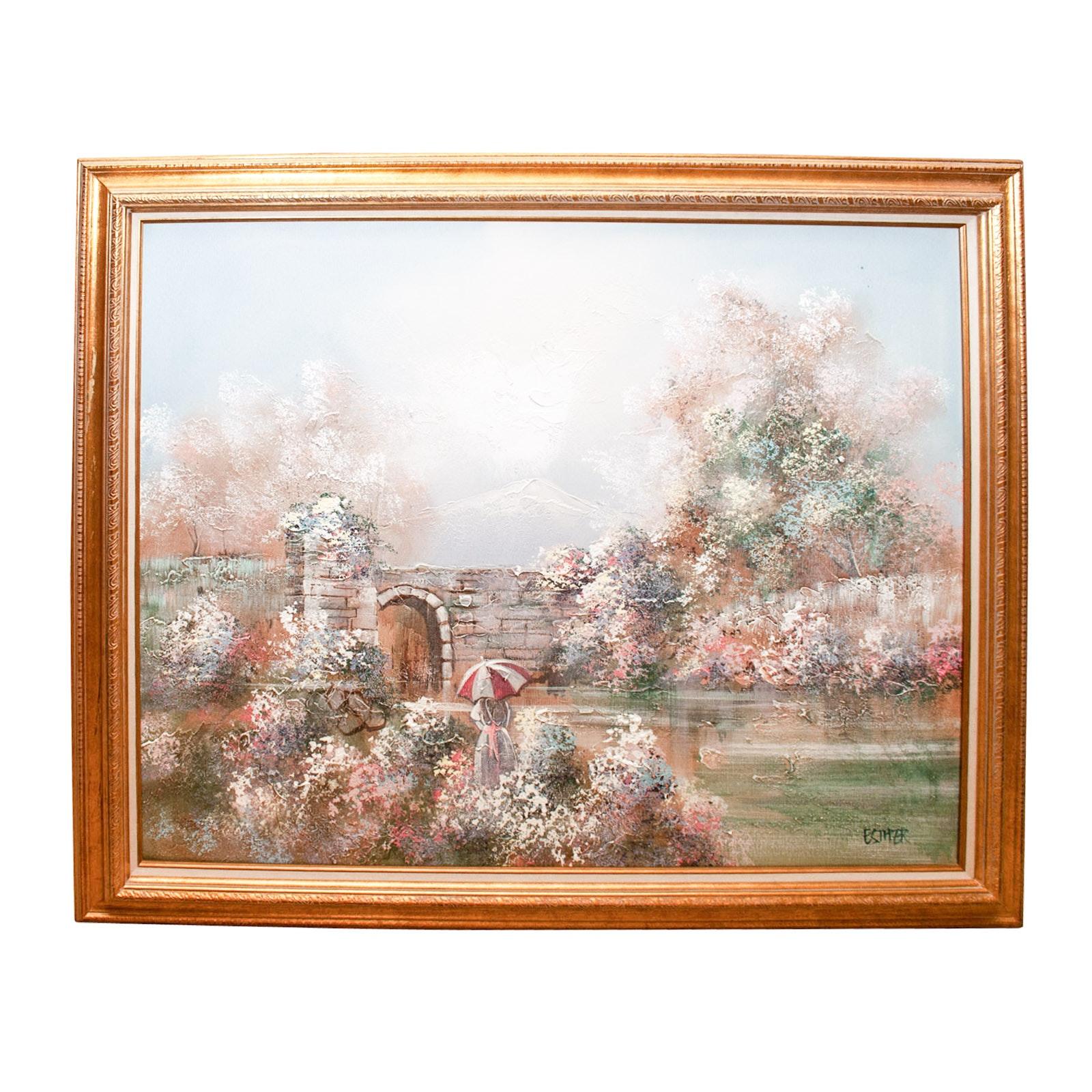 Esther (Landscape), Oil on Canvas
