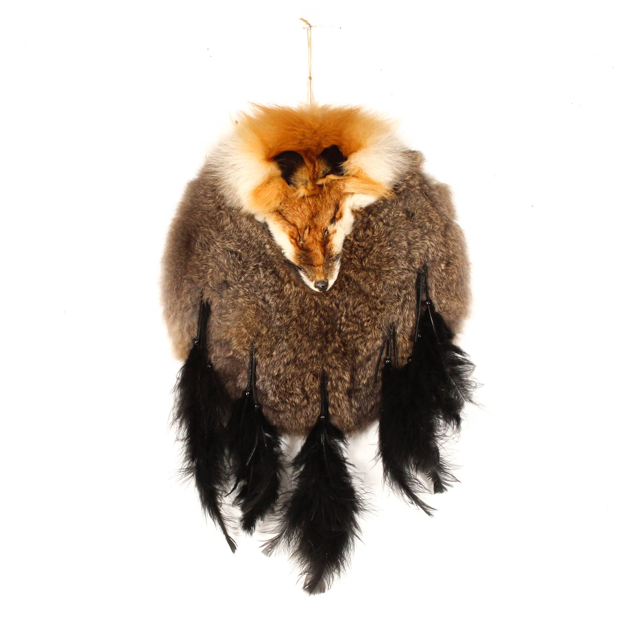 Fur and Feather Wall Hanging