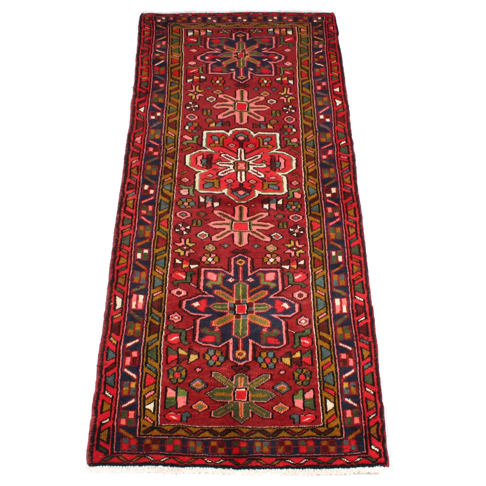 2'8 x 6'4 Hand-Knotted Persian Lamberan Runner