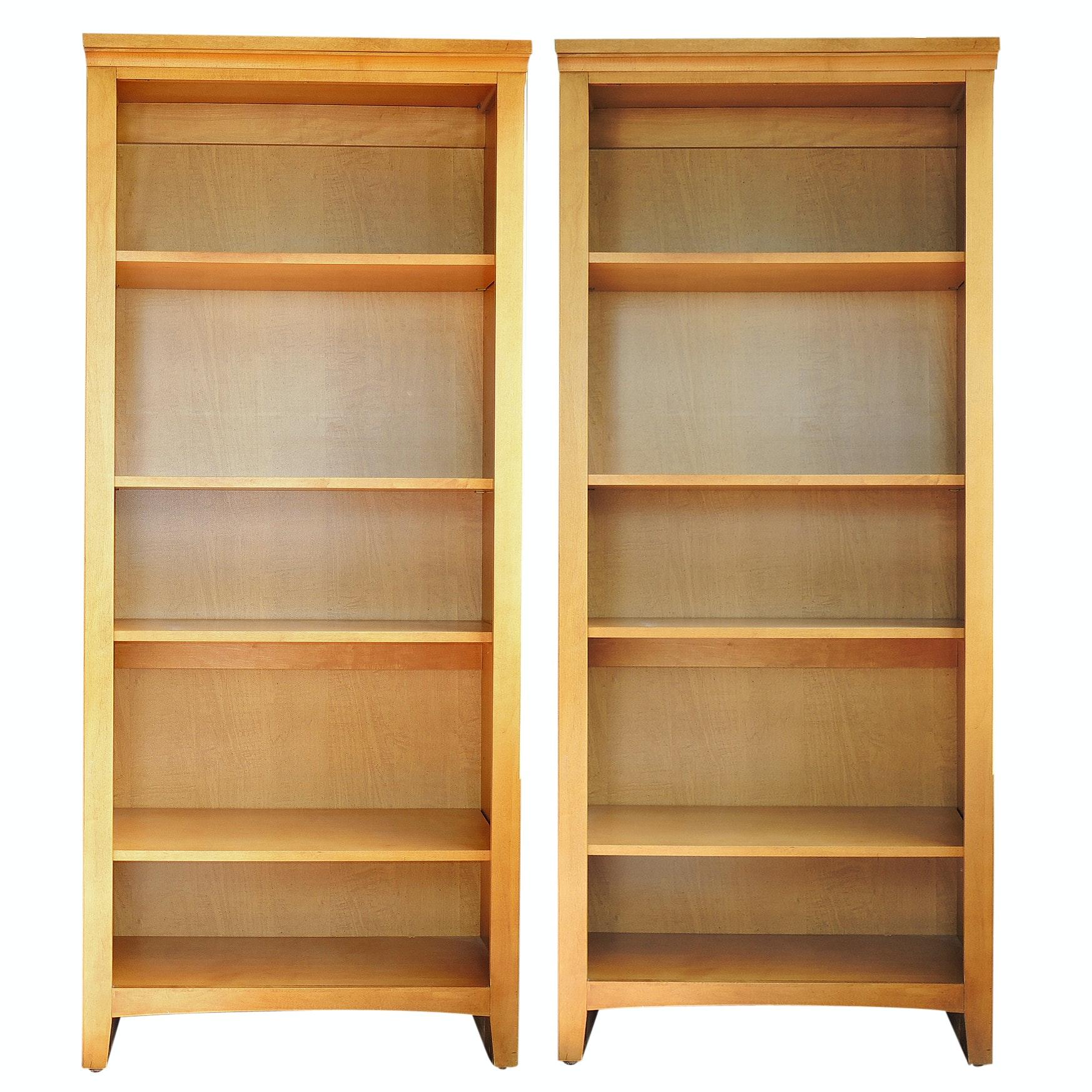 Contemporary Adjustable Shelf Bookcases