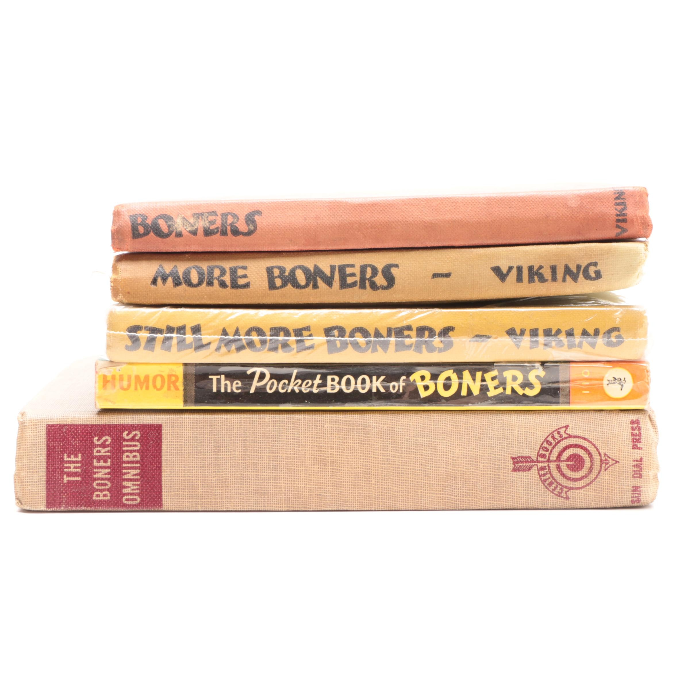 "Dr. Seuss ""Boners"" Book Set"