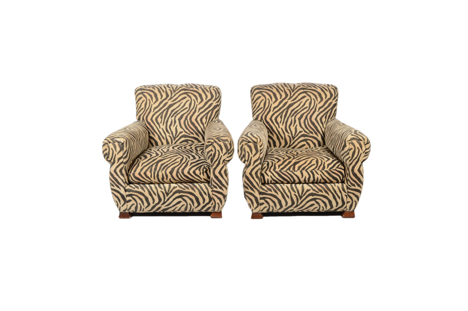 Upholstered Armchairs by Beverly, Dated 1996