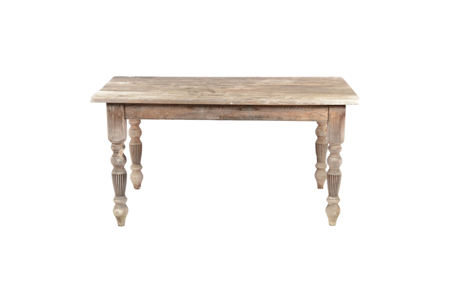 Pickled Pine Dining Table, 20th Century