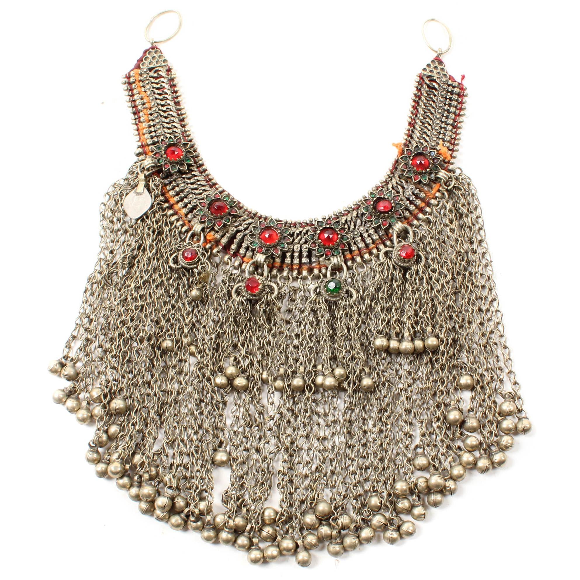 Vintage Bedouin Dancer Necklace