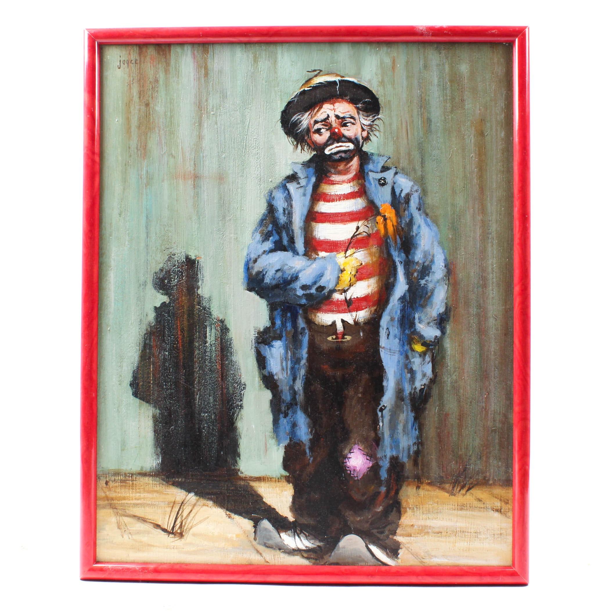 Joyce Acrylic Painting