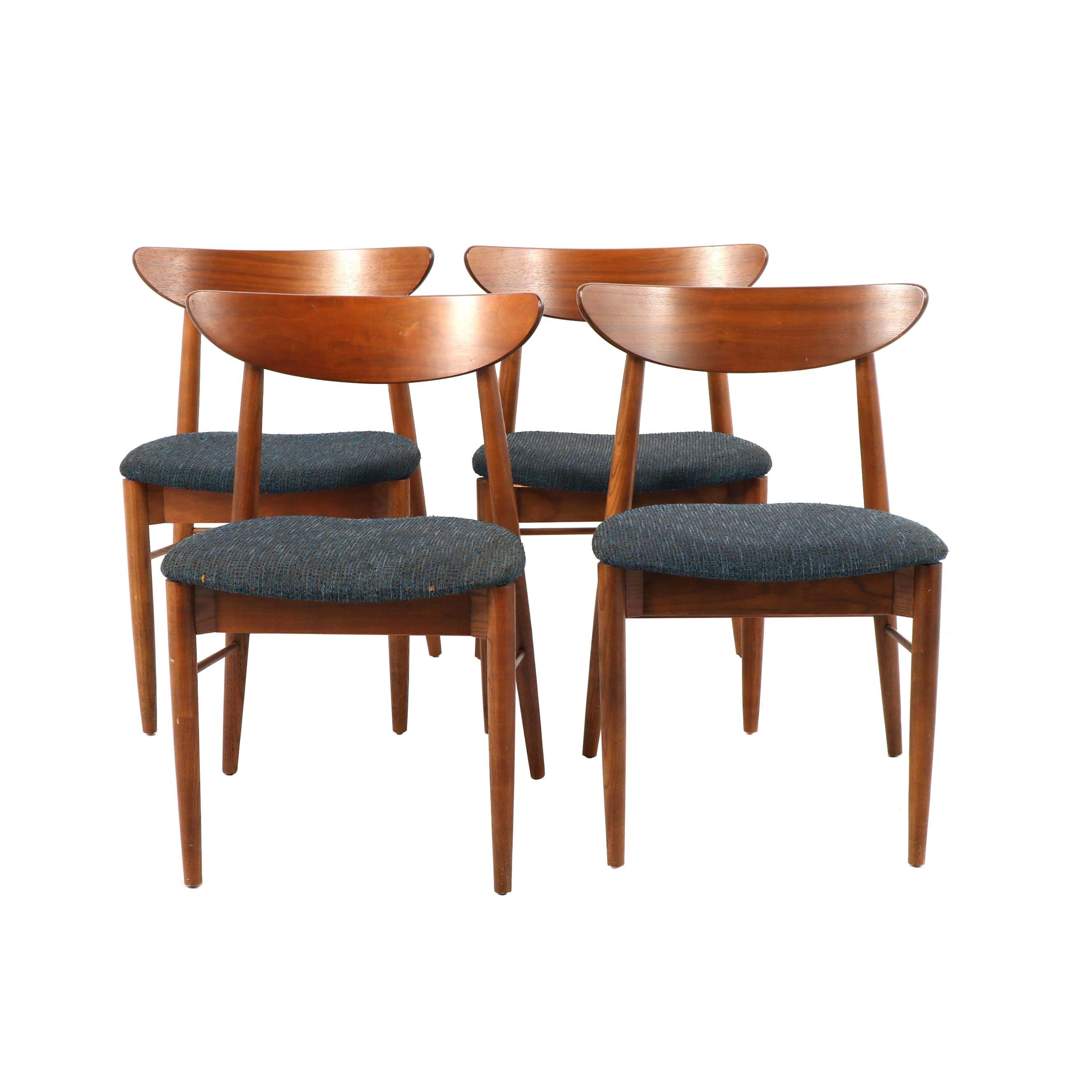 Mid Century Modern Dining Chairs, Mid 20th Century