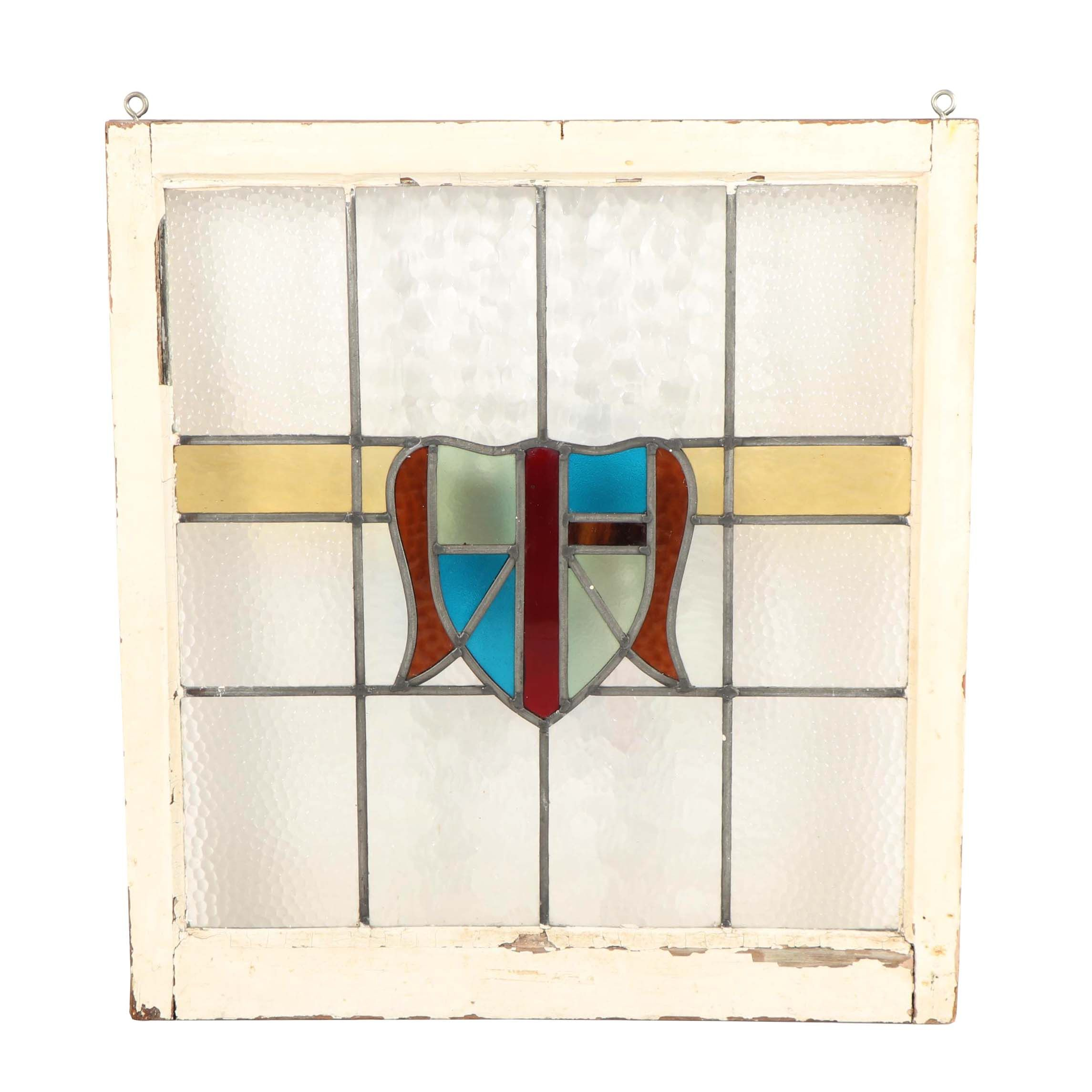 glass window pane residential antique stained glass window pane ebth