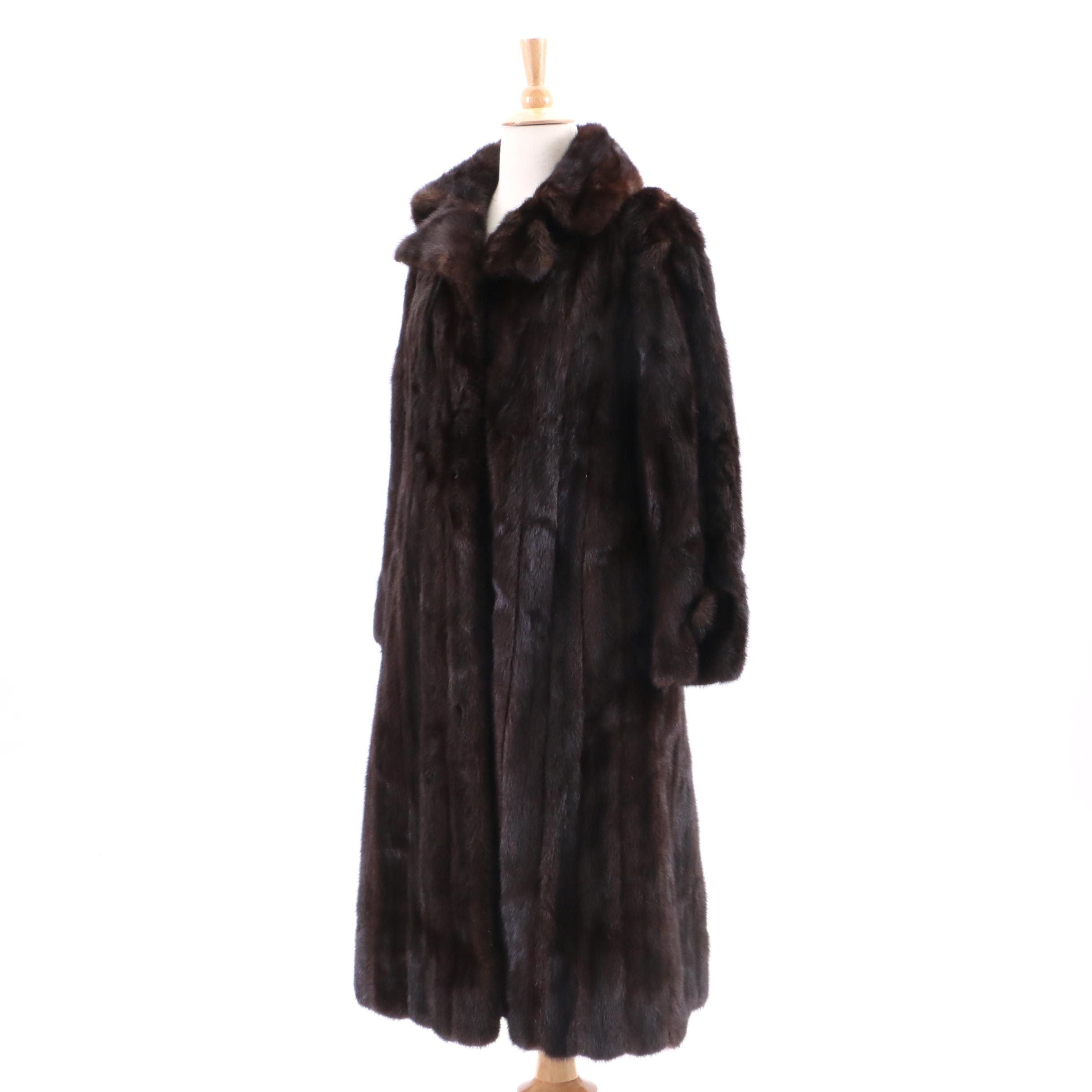 Vintage Gidding Jenny Mink Fur Coat