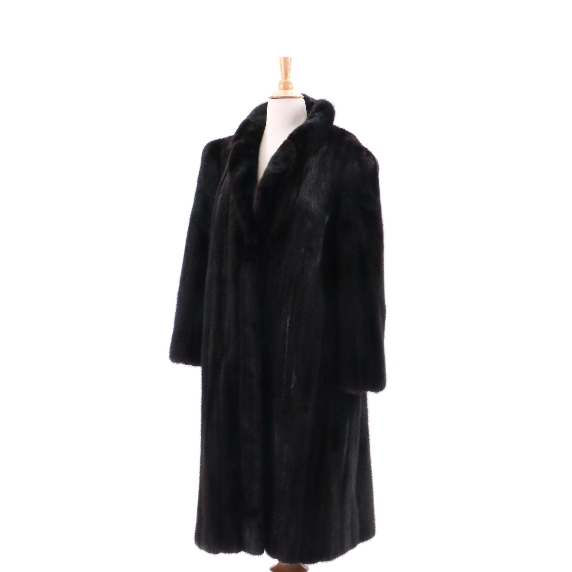 Lowenthal's Black Mink Fur Coat