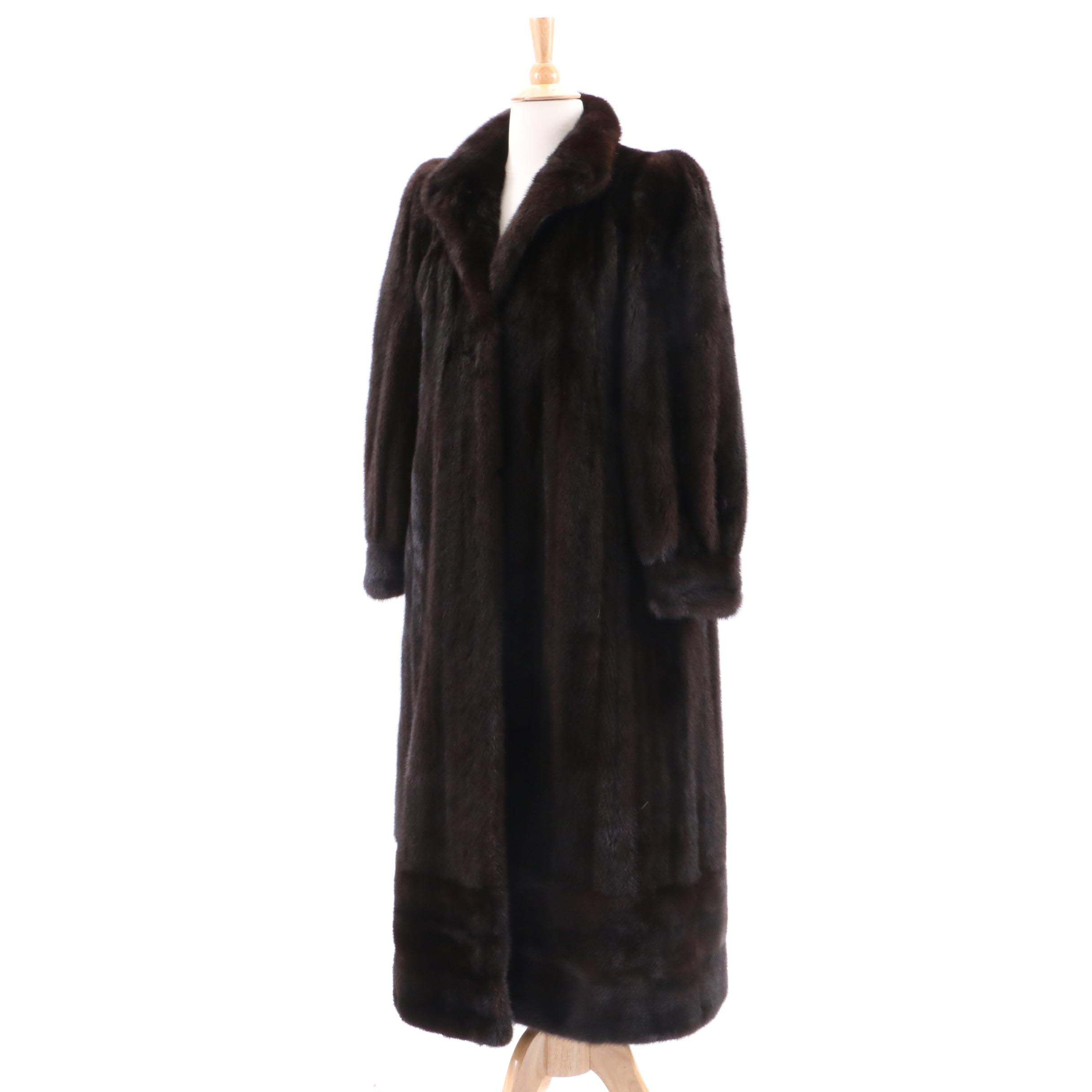 Stanley Rich Mink Fur Coat