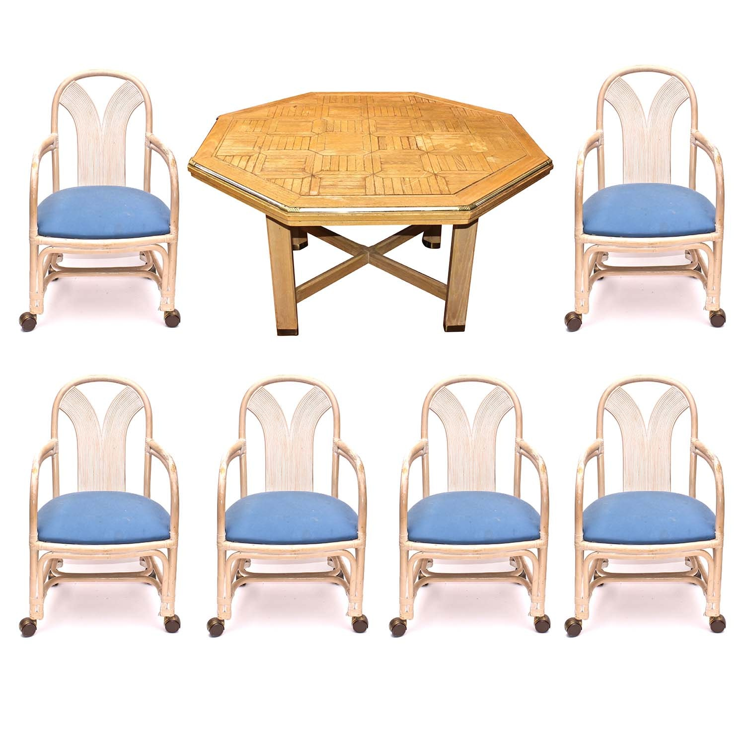 Contemporary Dining Table and Chair Set
