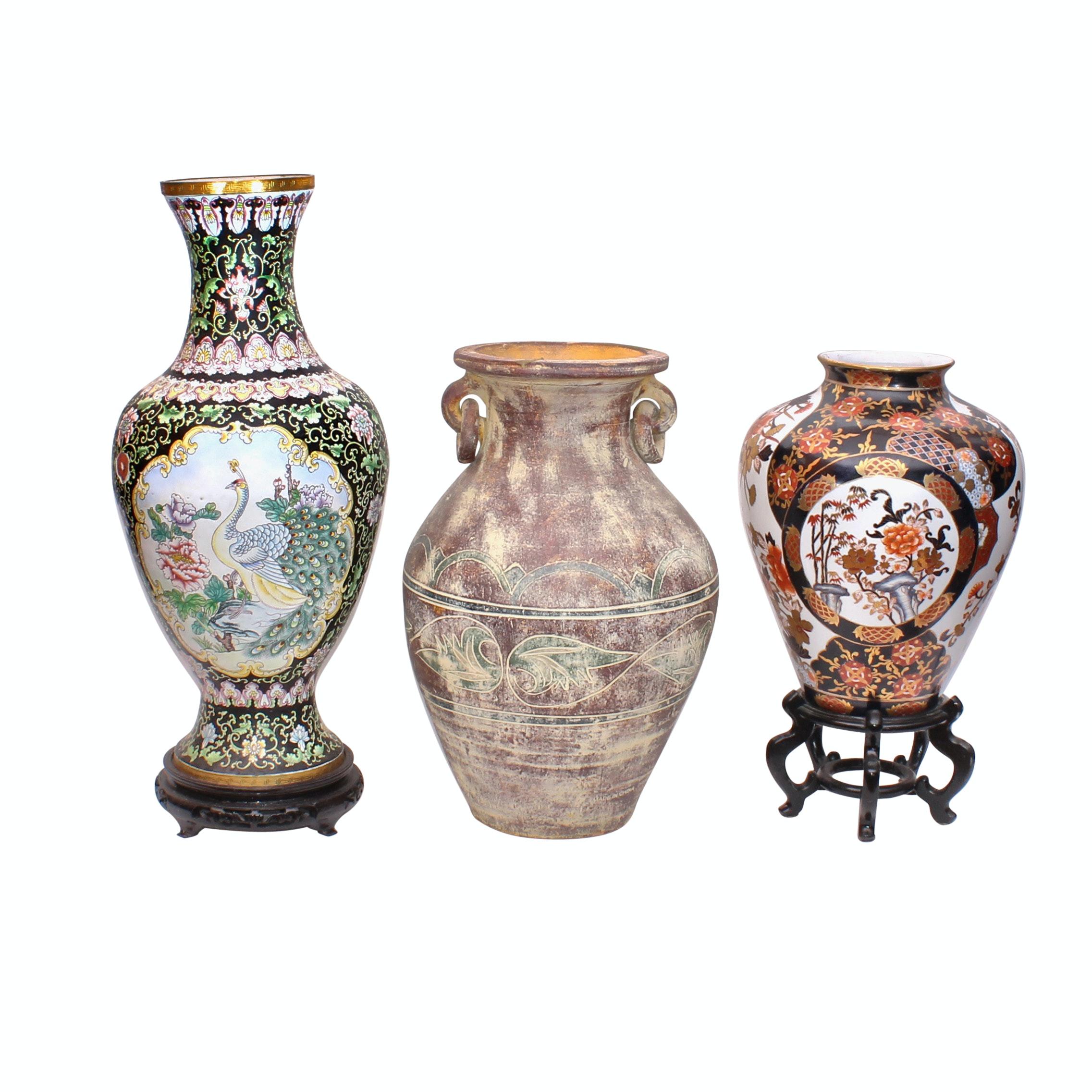 Decorative Floor Vase Selection