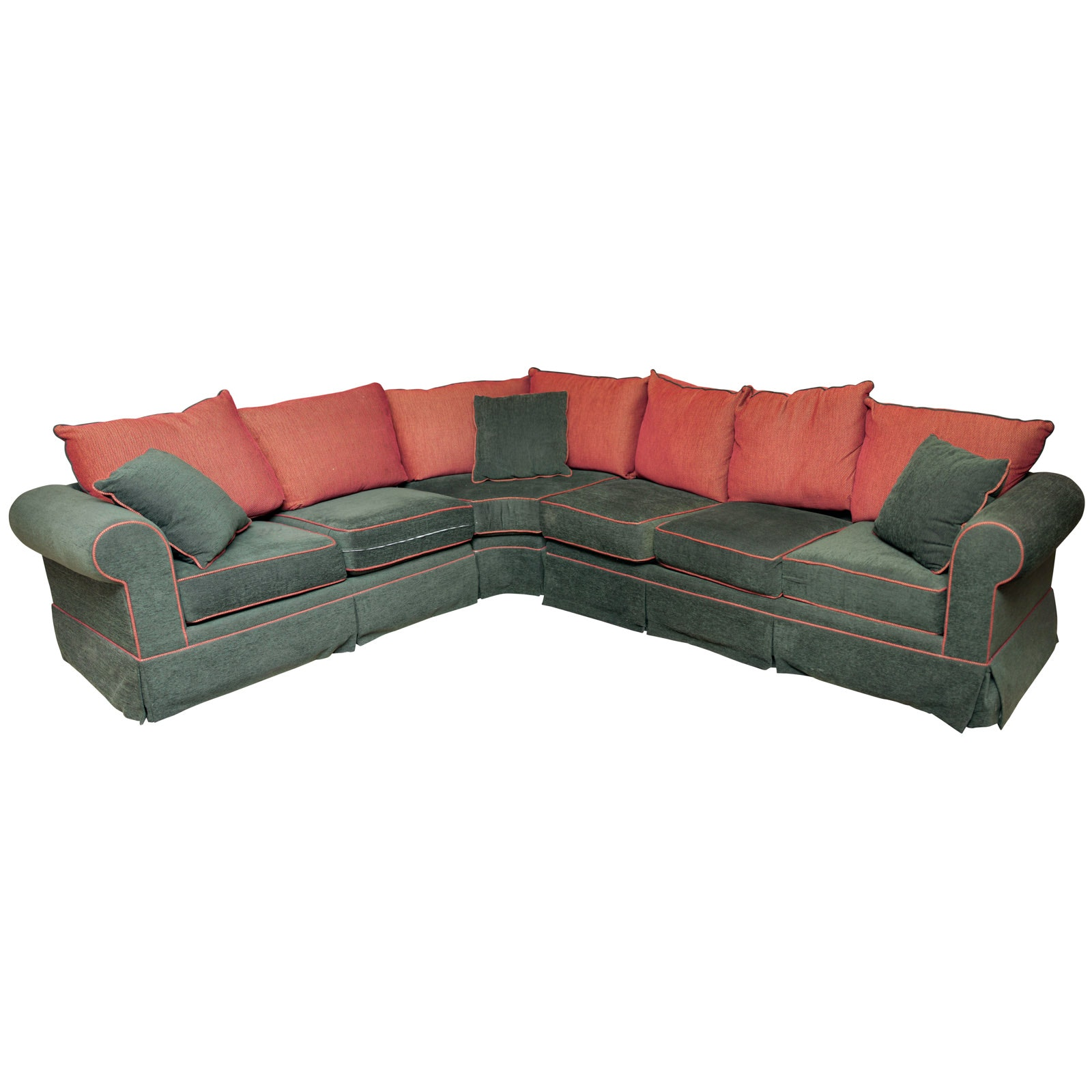 Contemporary Upholstered Sectional Sofa by Lane